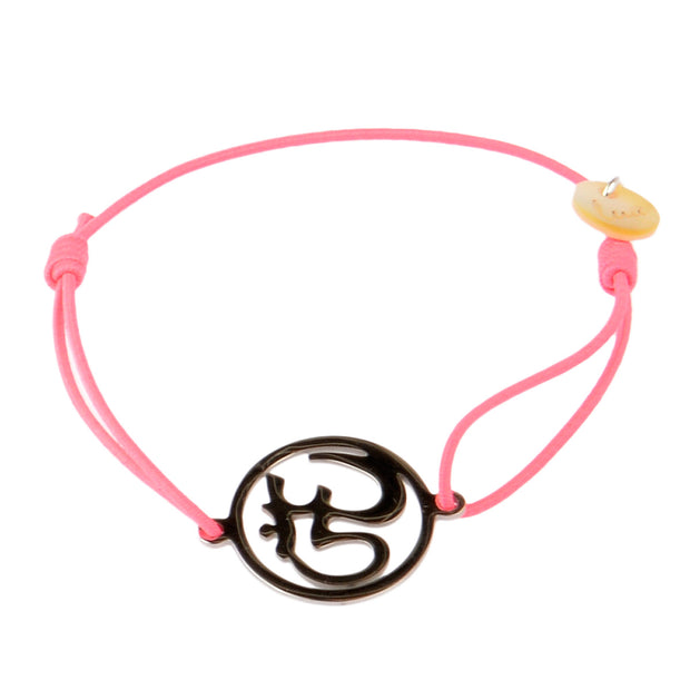 lua accessories Armband OM in Neon Pink 1