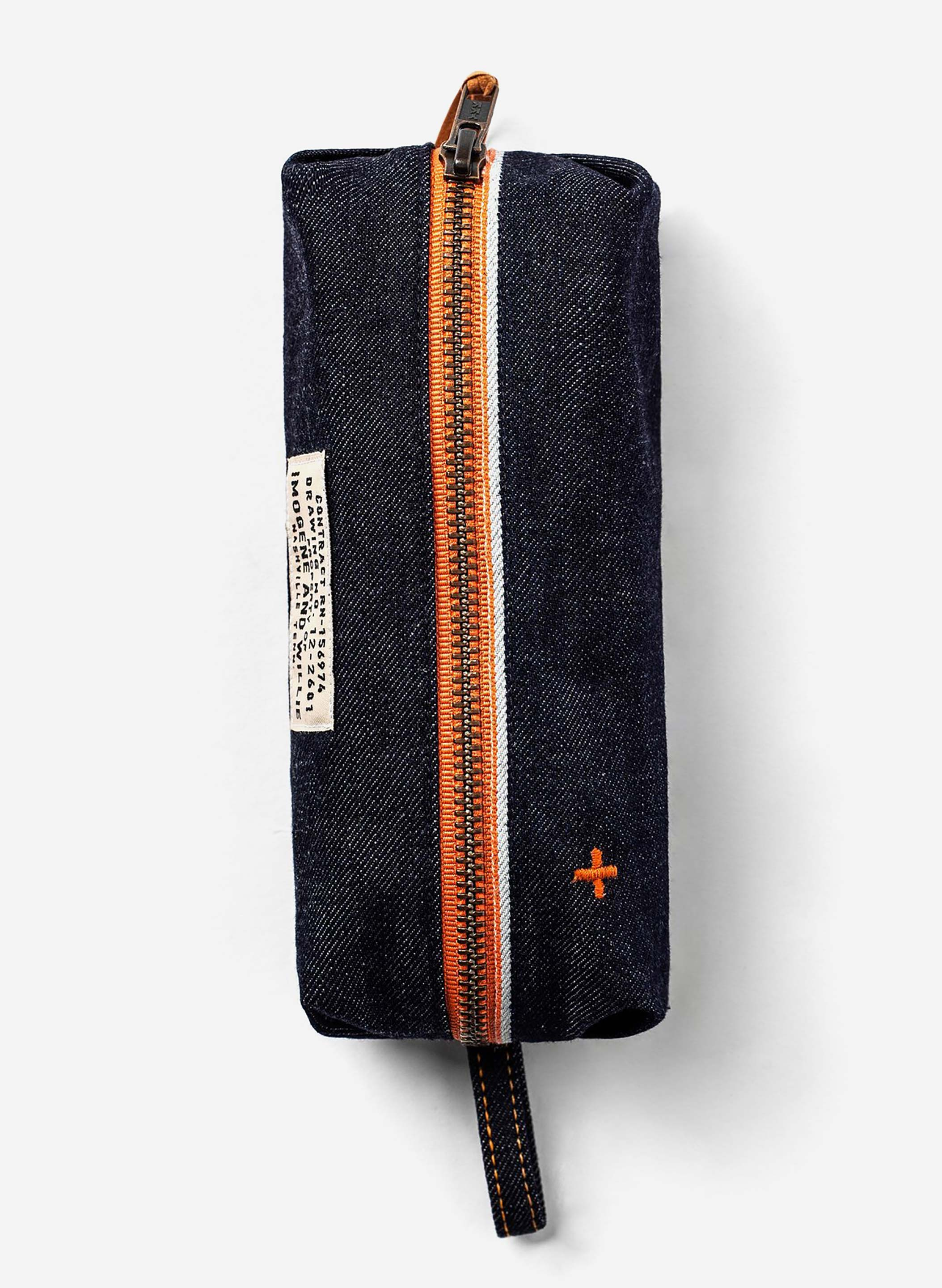the i+w selvage pencil bag