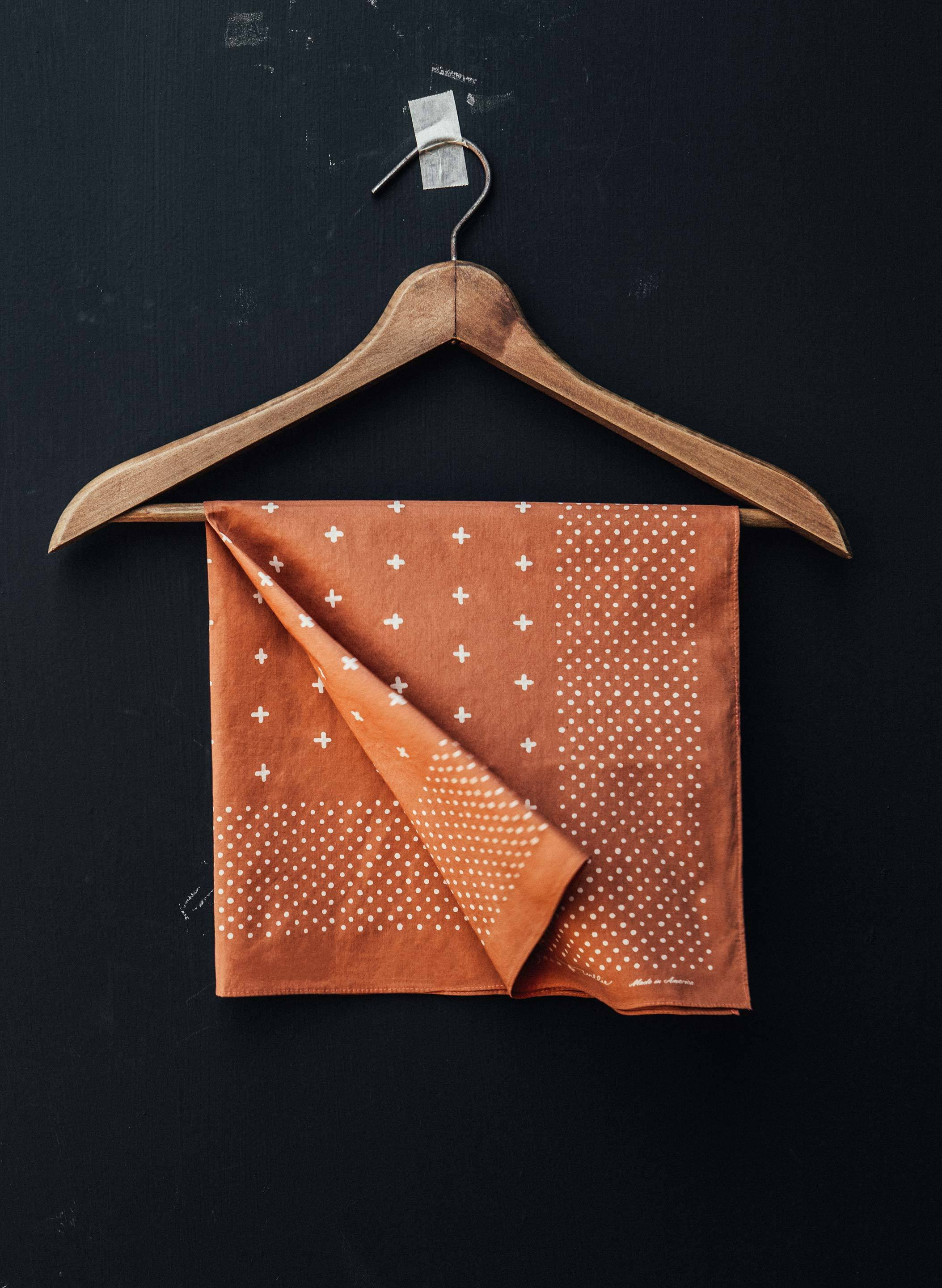 imogene + willie - i+w vintage orange bandana