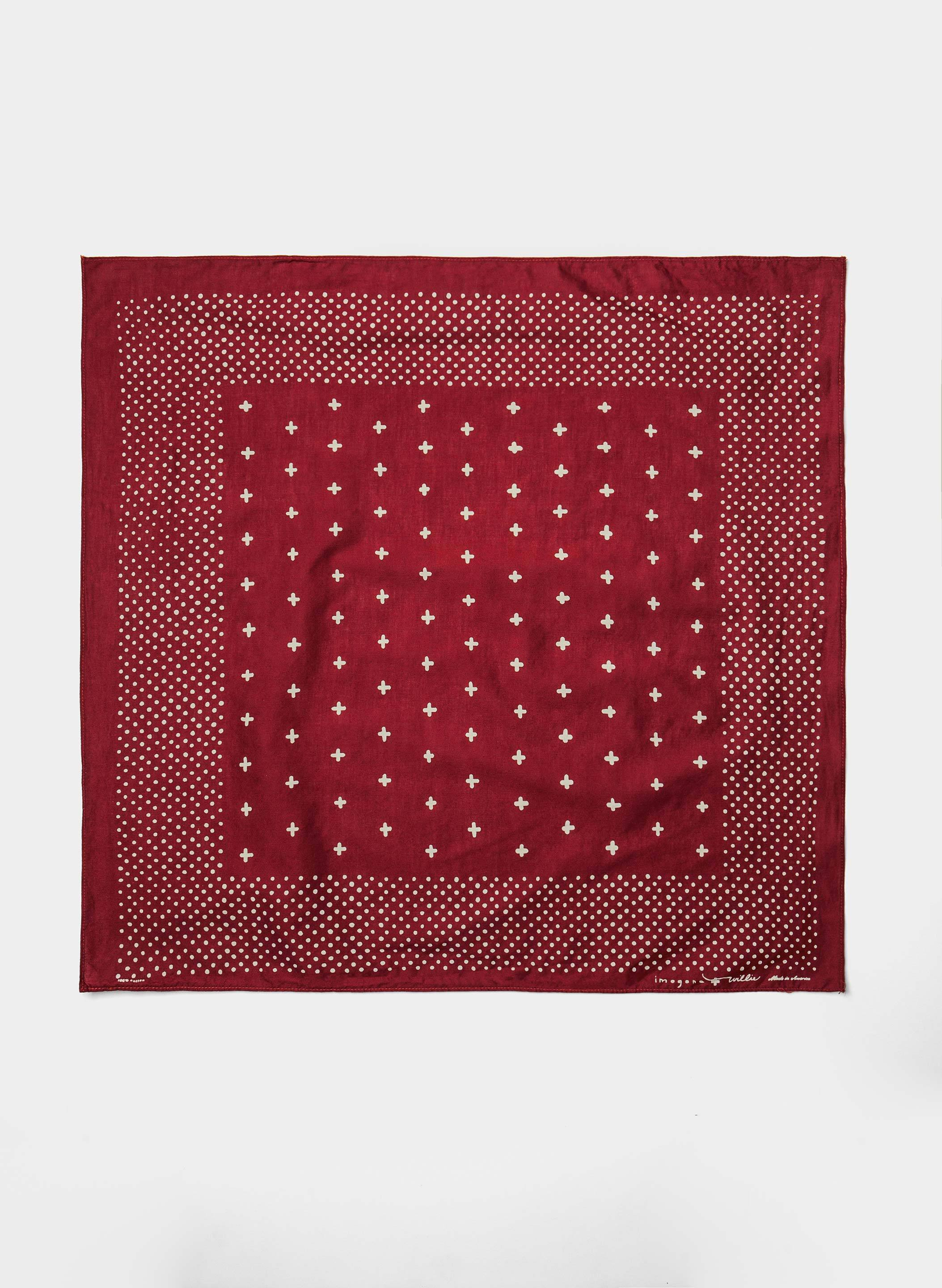 imogene + willie - i+w vintage red bandana