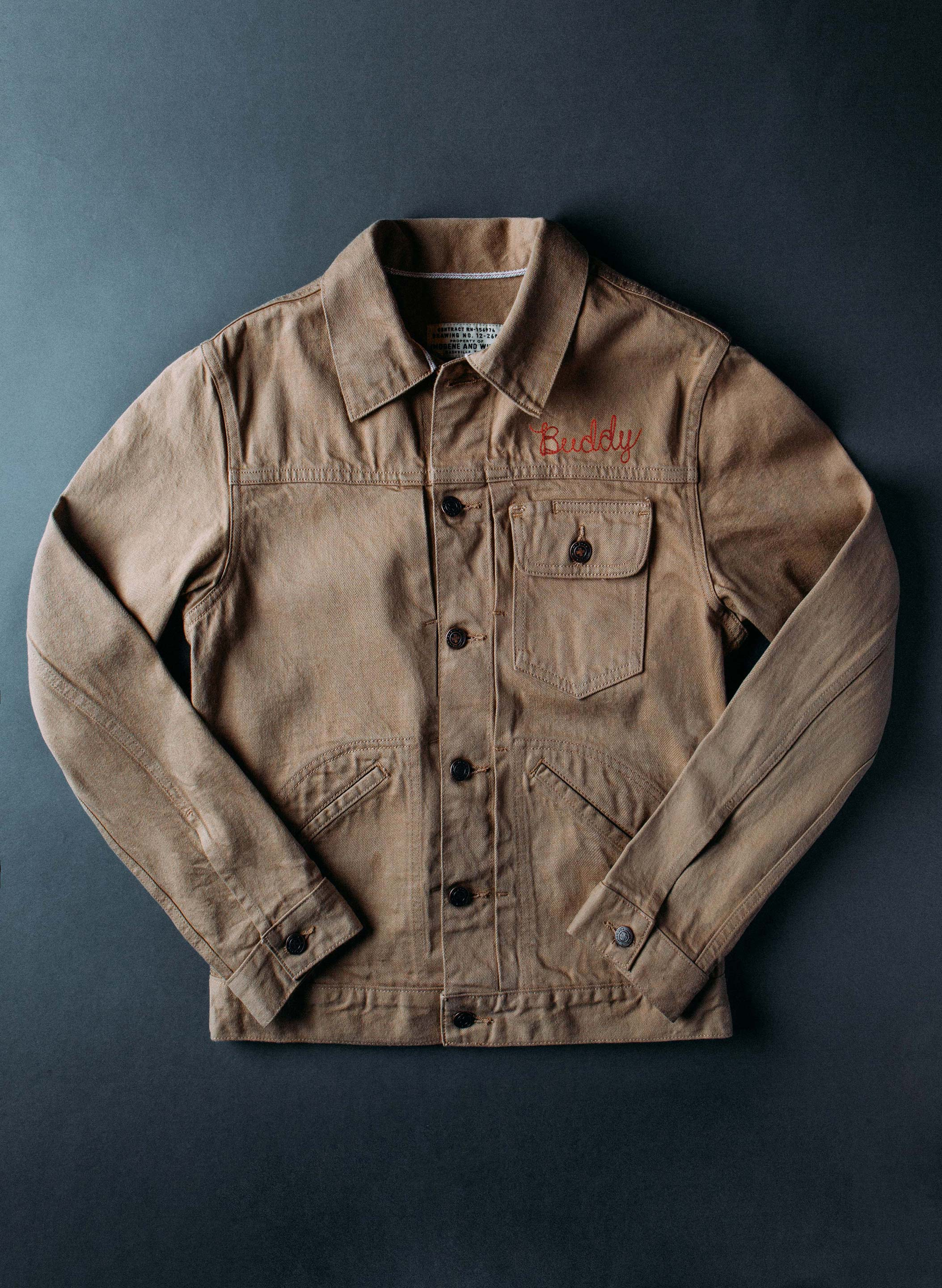 imogene + willie - chainstitch barnes selvage jacket
