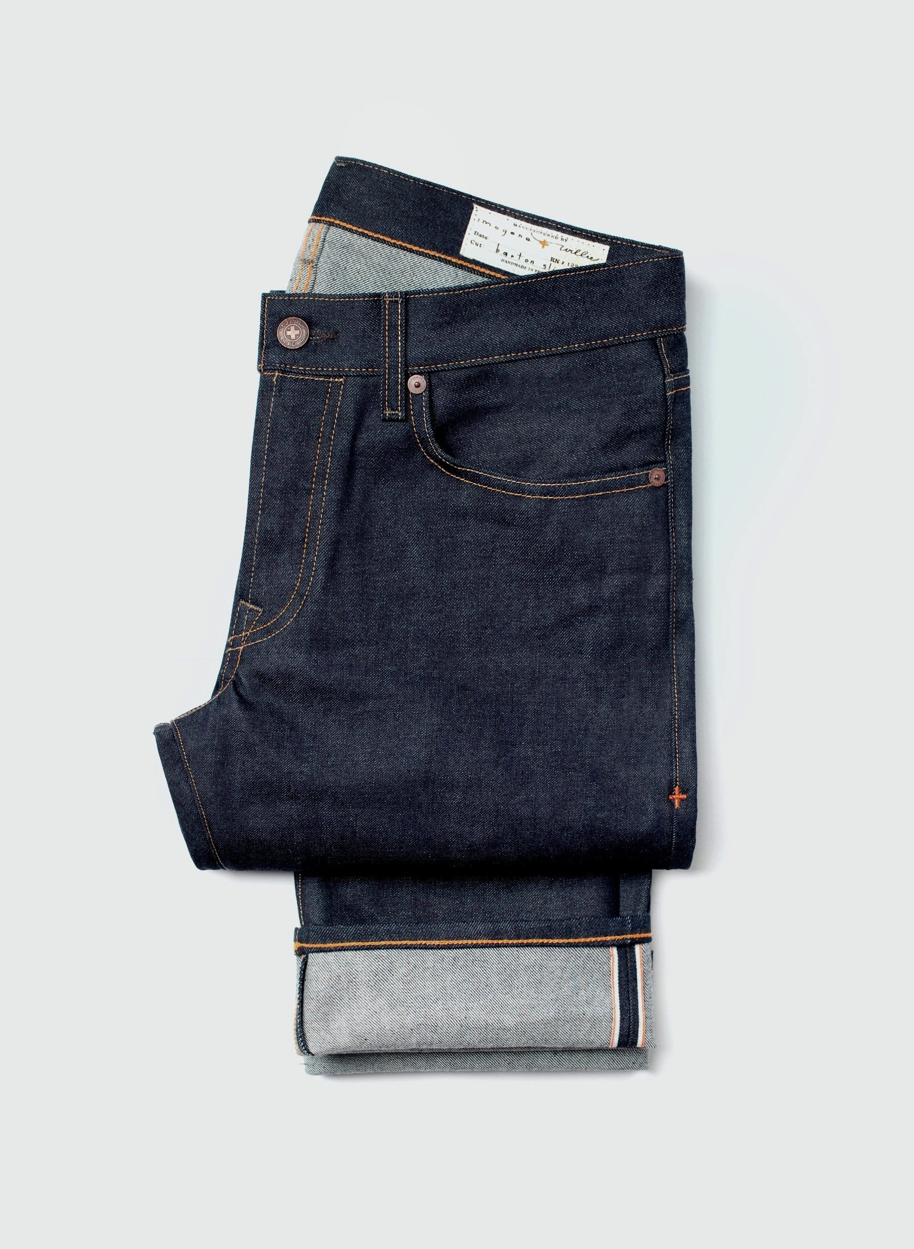 imogene + willie - barton slim indigo rigid