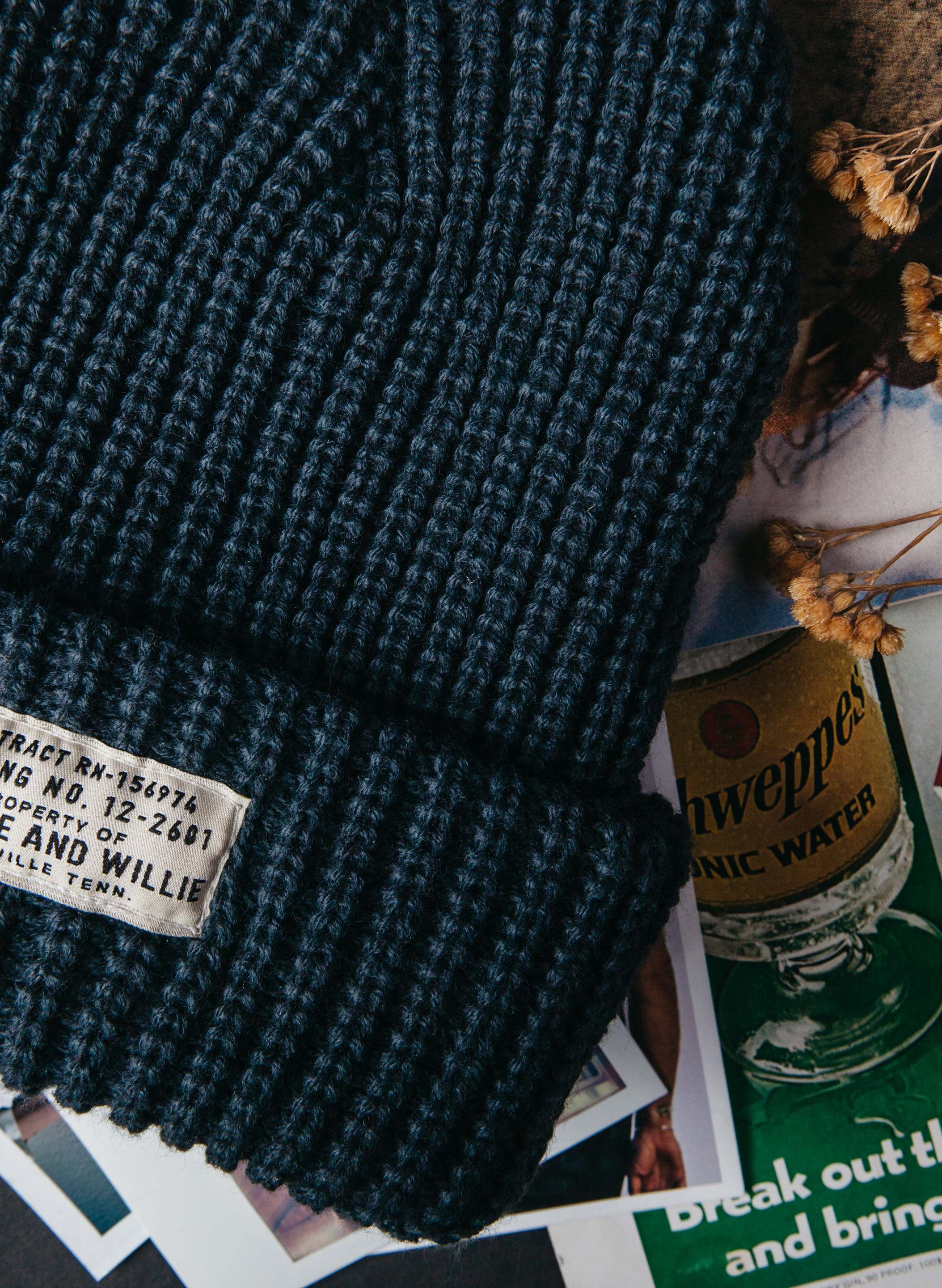 imogene + willie - the i+w slate watch cap