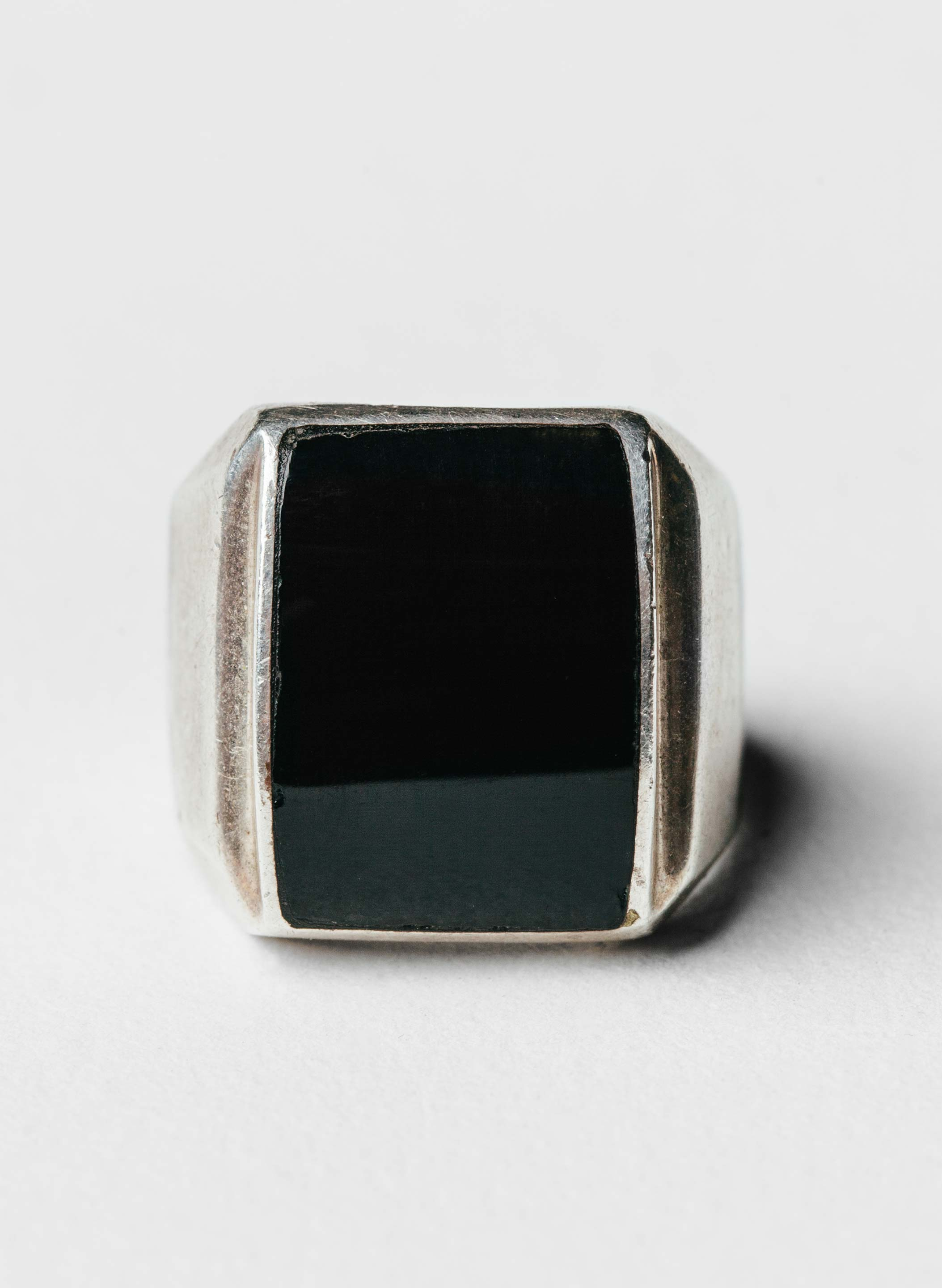 "imogene + willie - vintage ""spectre"" sterling ring"