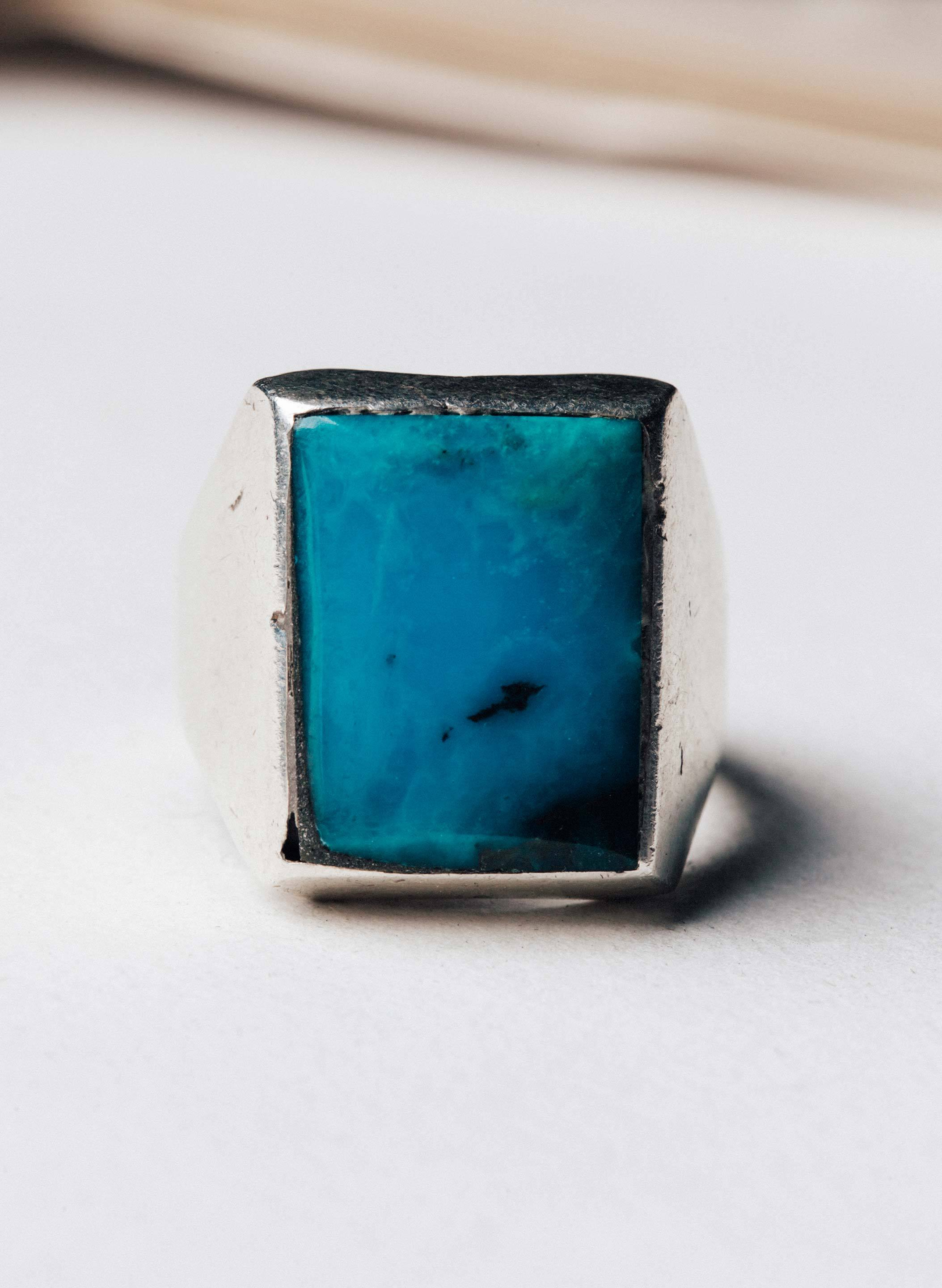 "imogene + willie - vintage ""vasquez"" landscape ring"