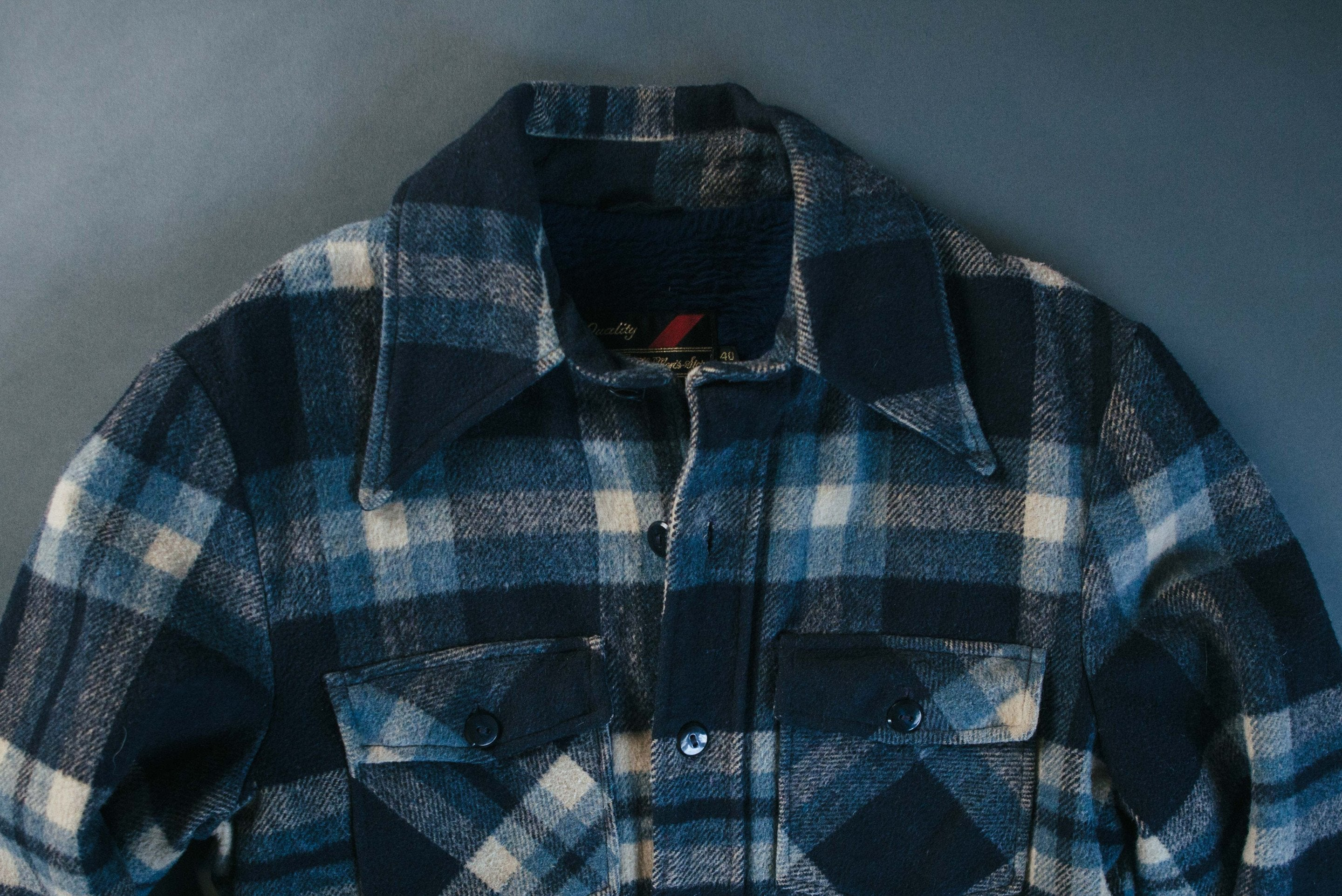 "imogene + willie - vintage ""rainier"" buffalo check"
