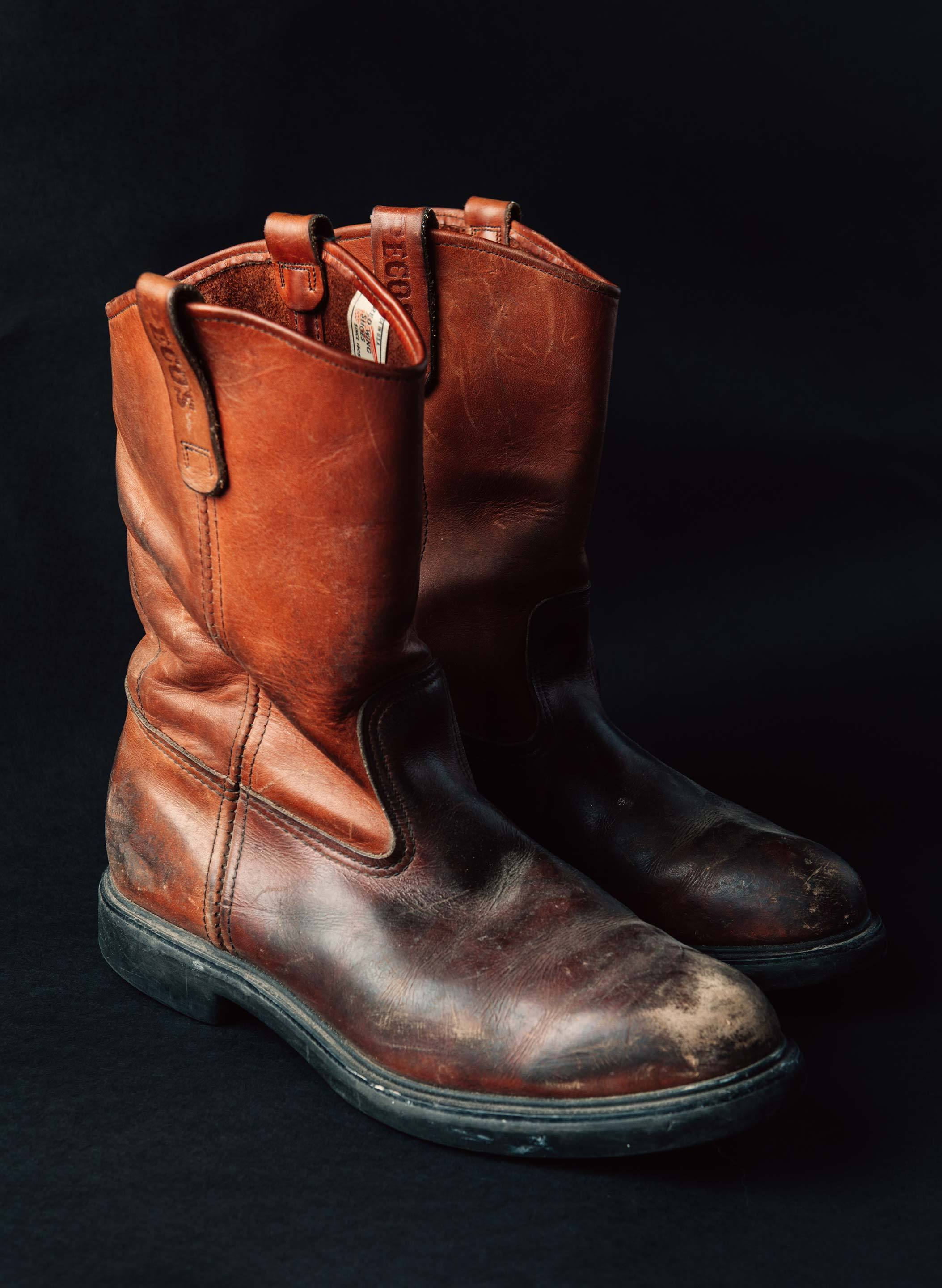 "imogene + willie - vintage ""harrington"" pecos boots"