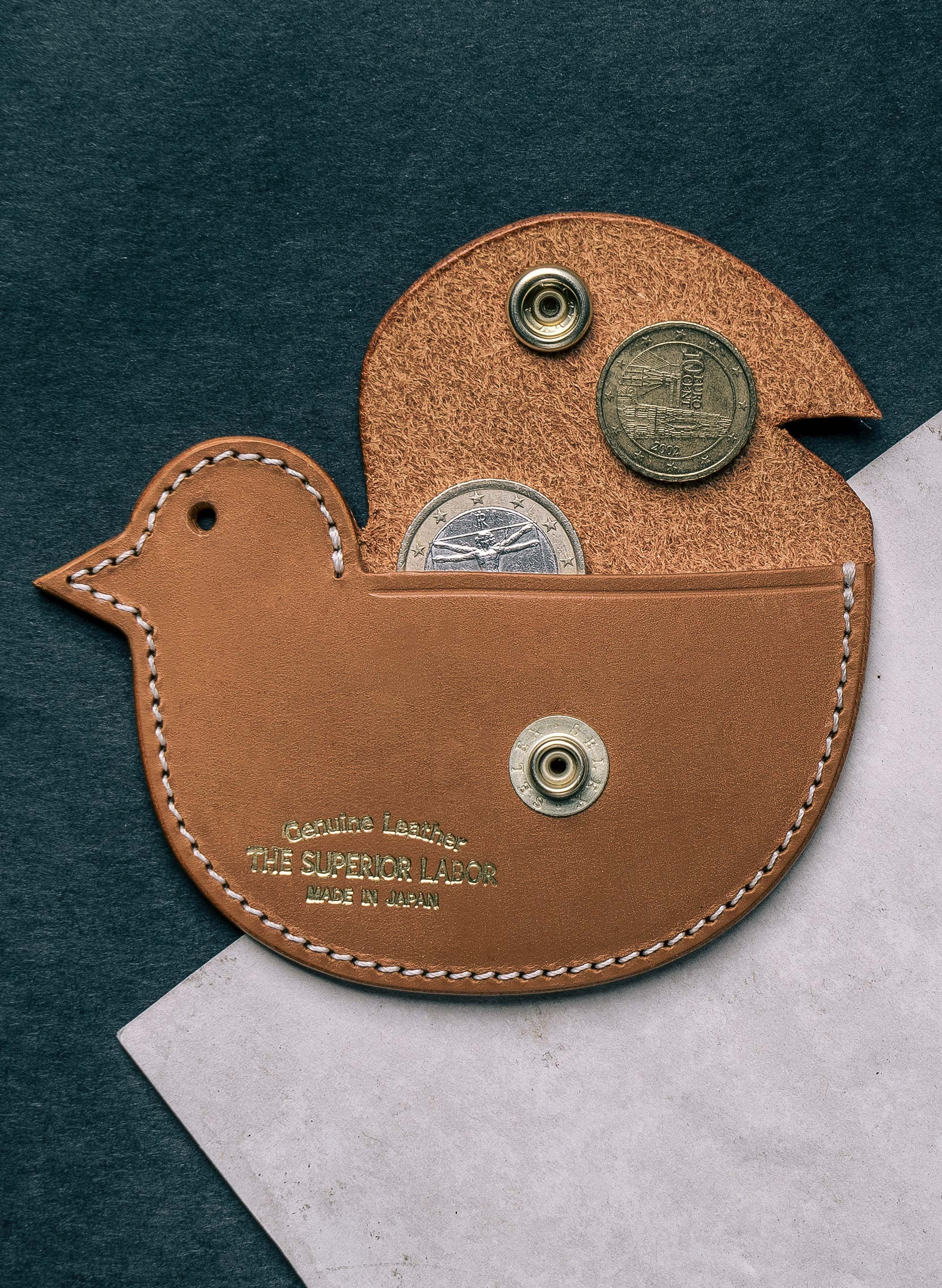 imogene + willie - superior coin case (saddle)