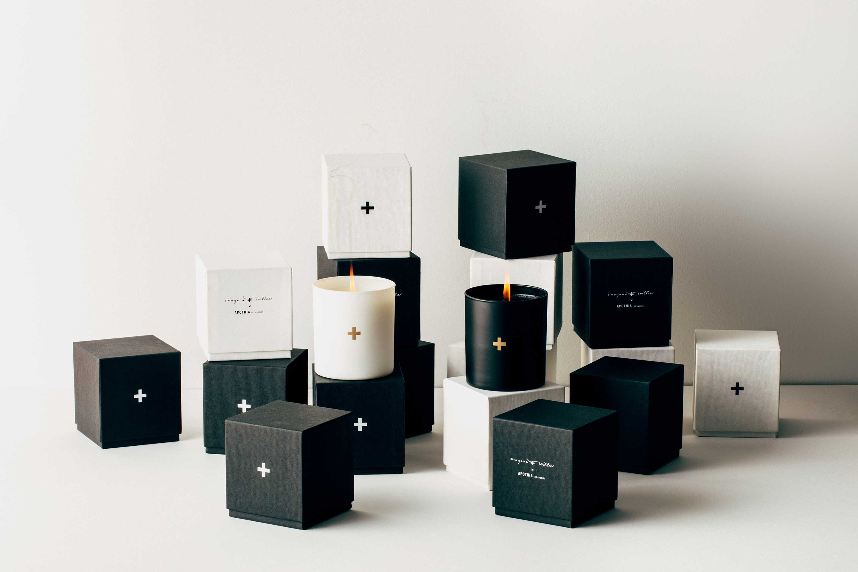 imogene + willie - the plus candle set