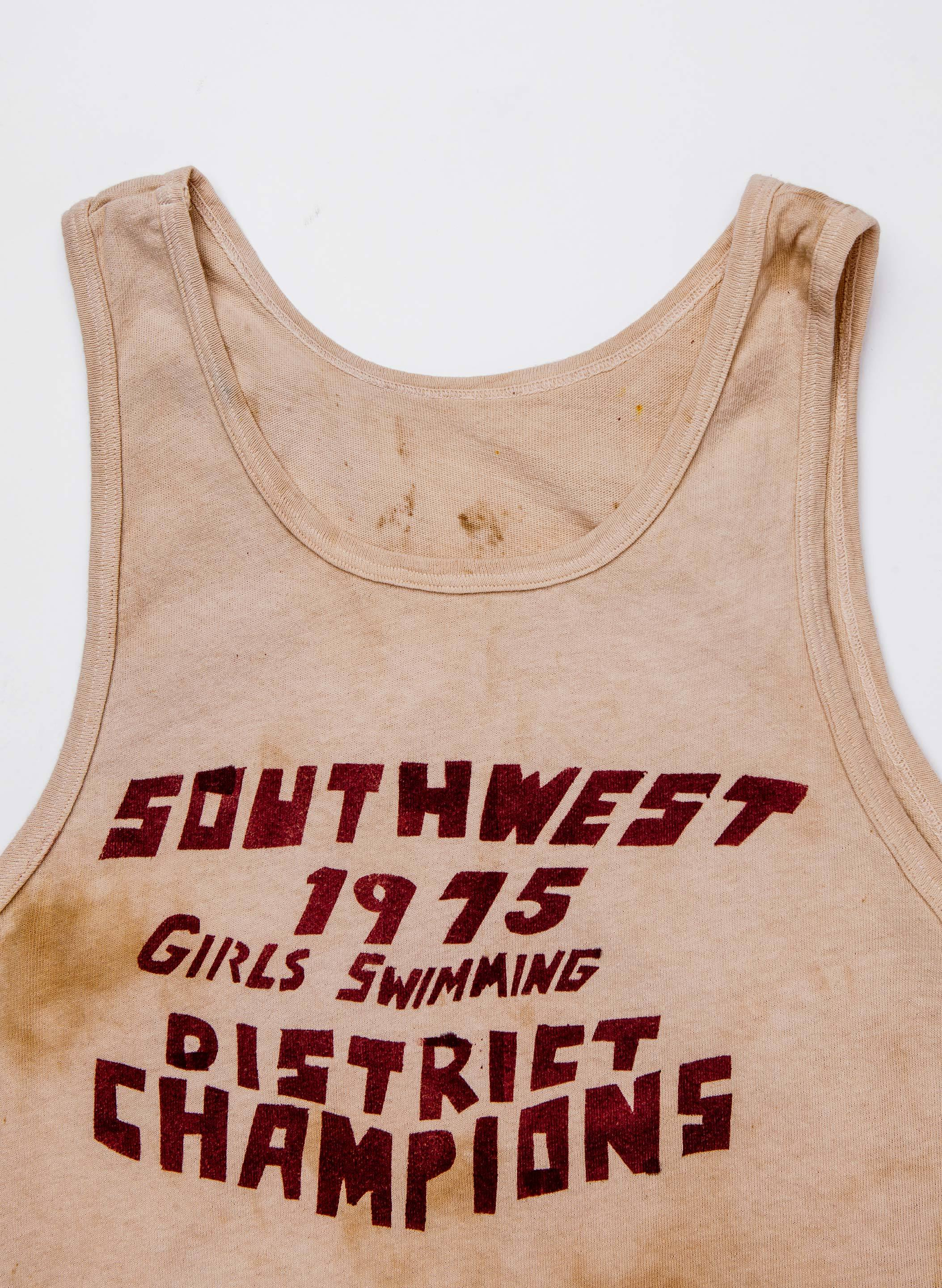 "imogene + willie - the handpainted ""district champs"" tank"