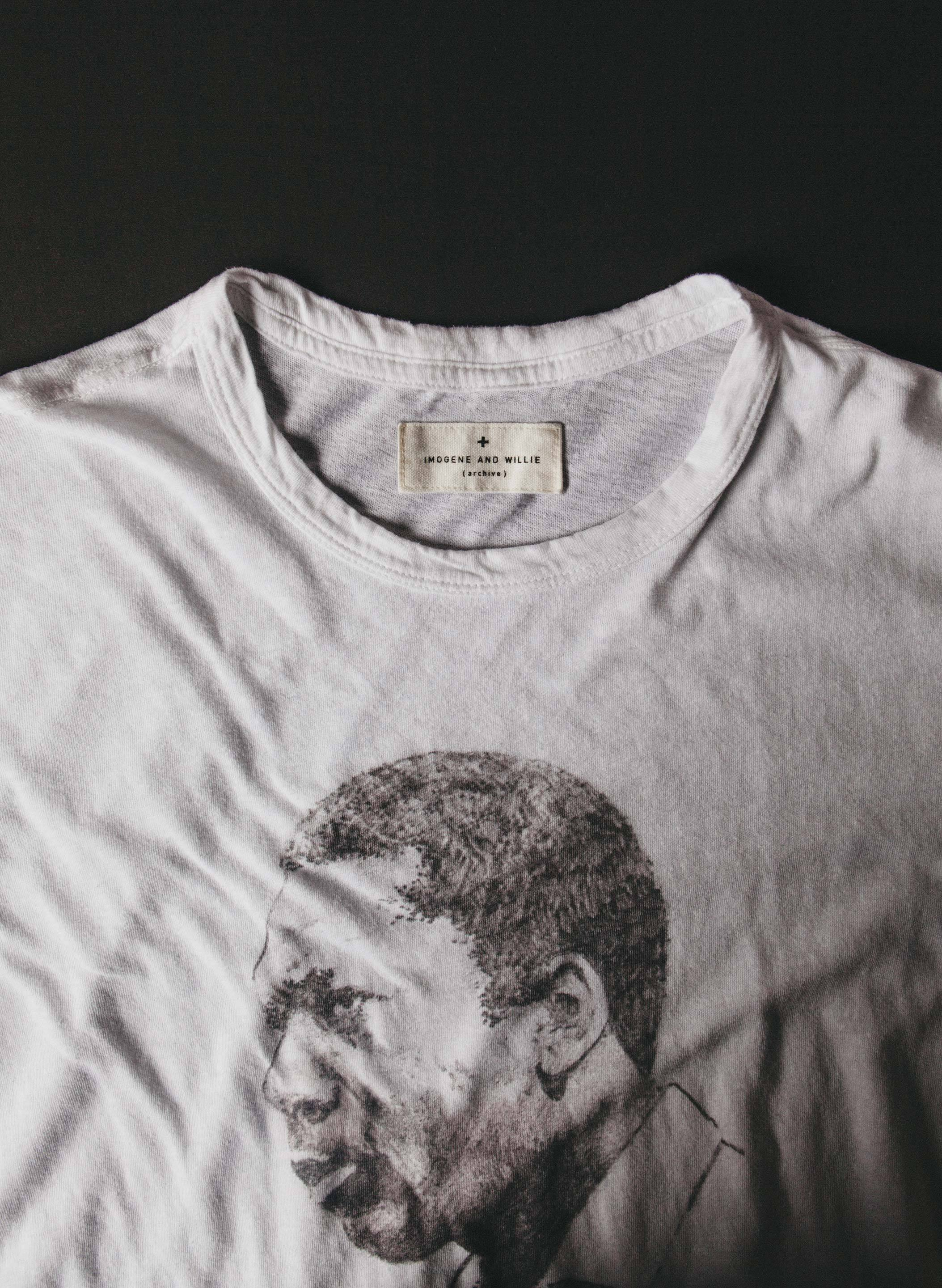"imogene + willie - drawn ""a love supreme"" tee"