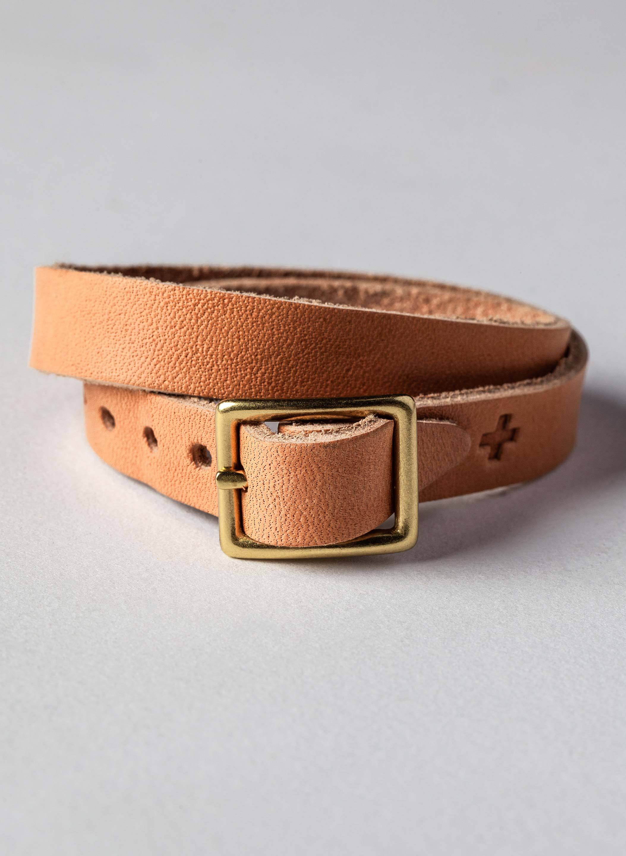 imogene + willie - emil erwin wrap bracelet in natural