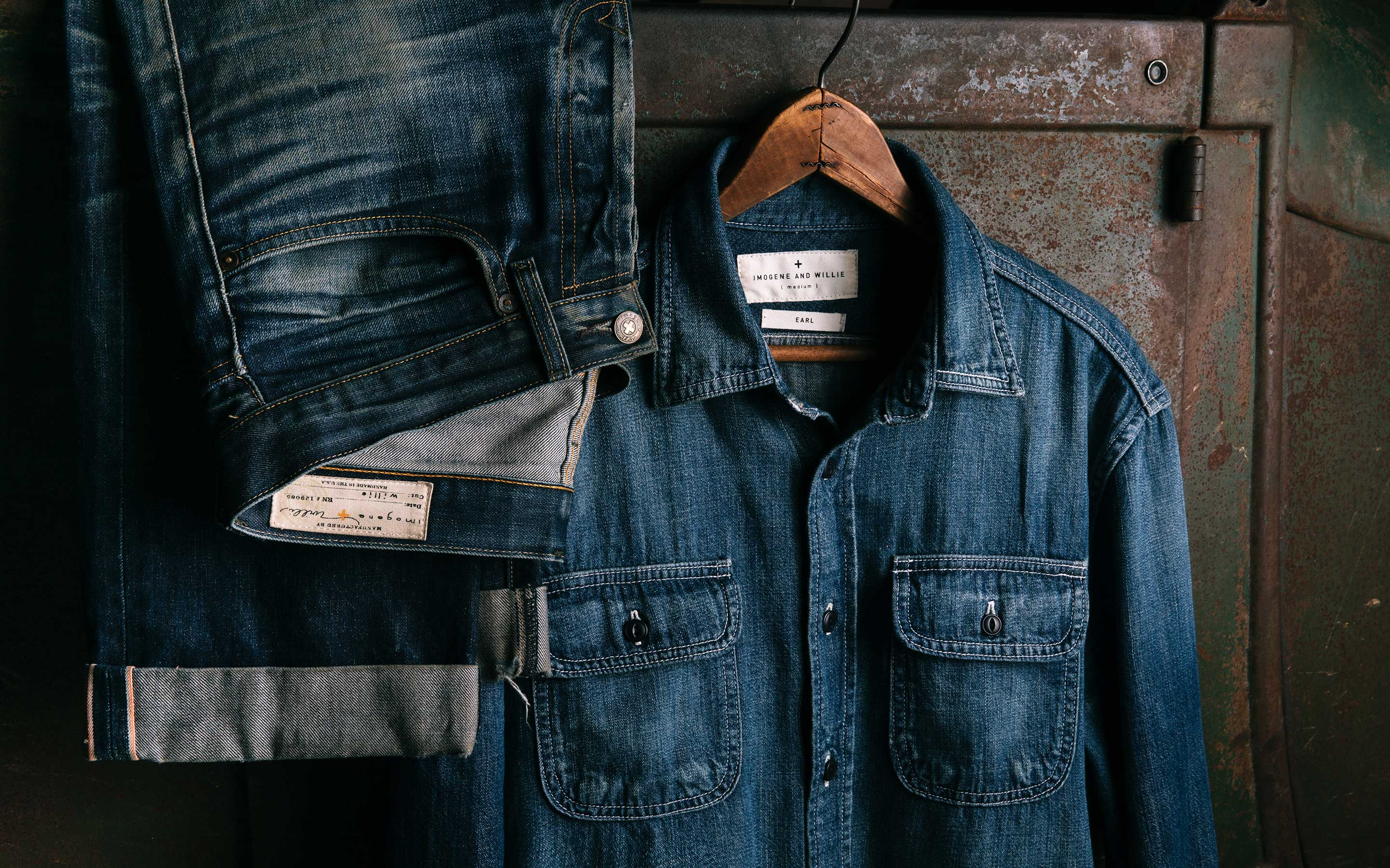 imogene + willie - earl selvage denim