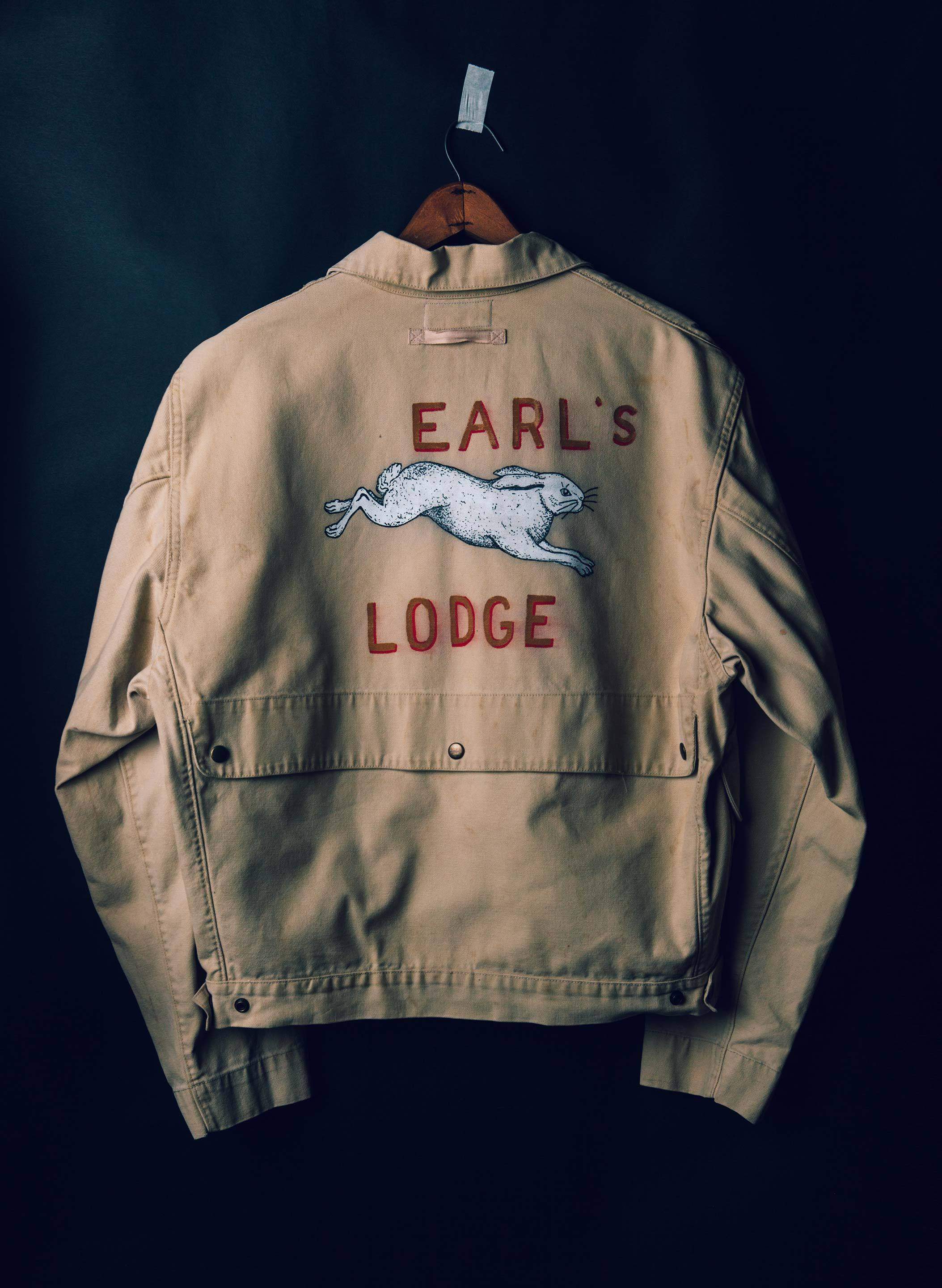 "imogene + willie - painted ""earl's lodge"" jacket"