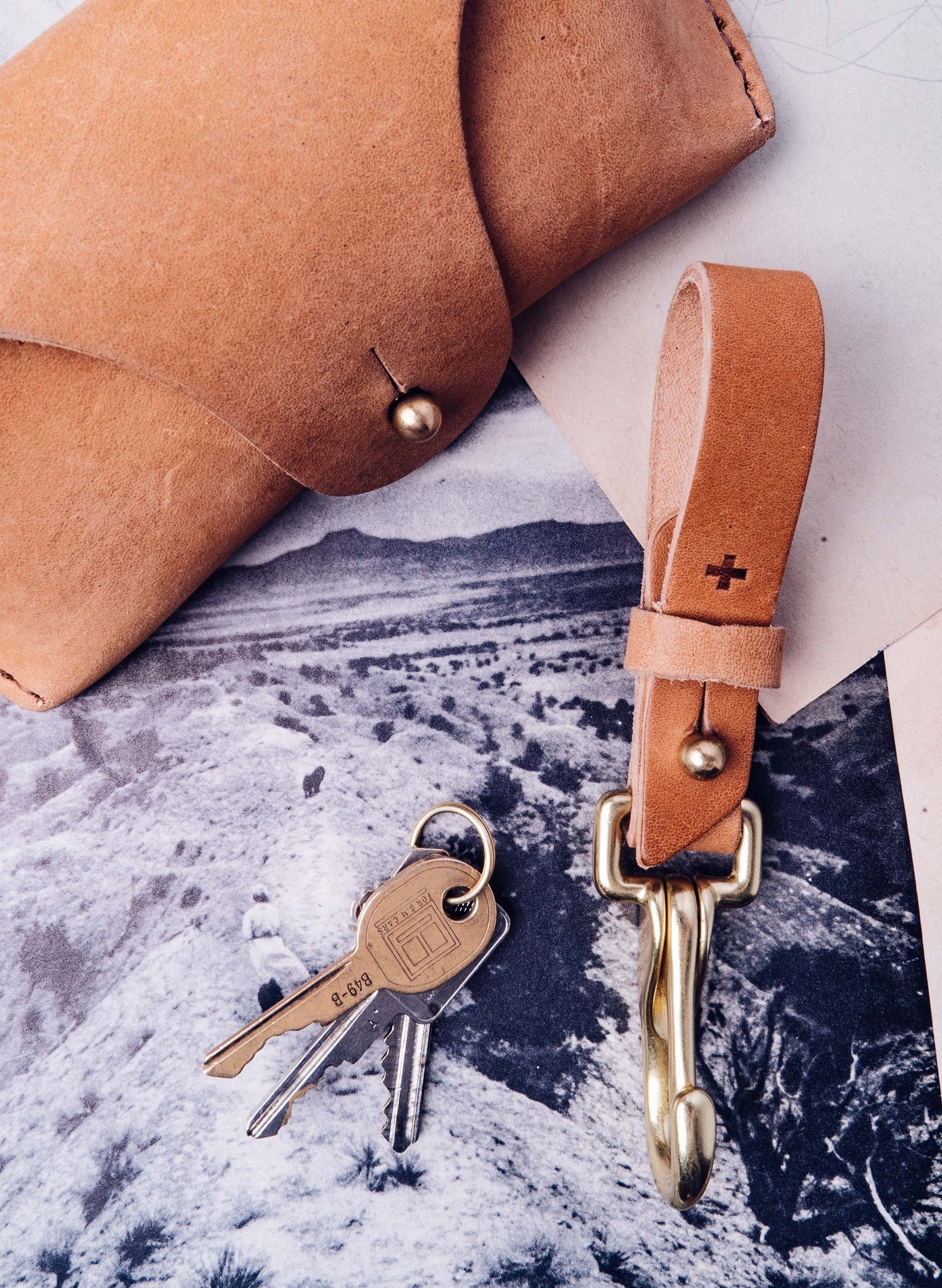 imogene + willie - emil erwin x i+w keychain in natural