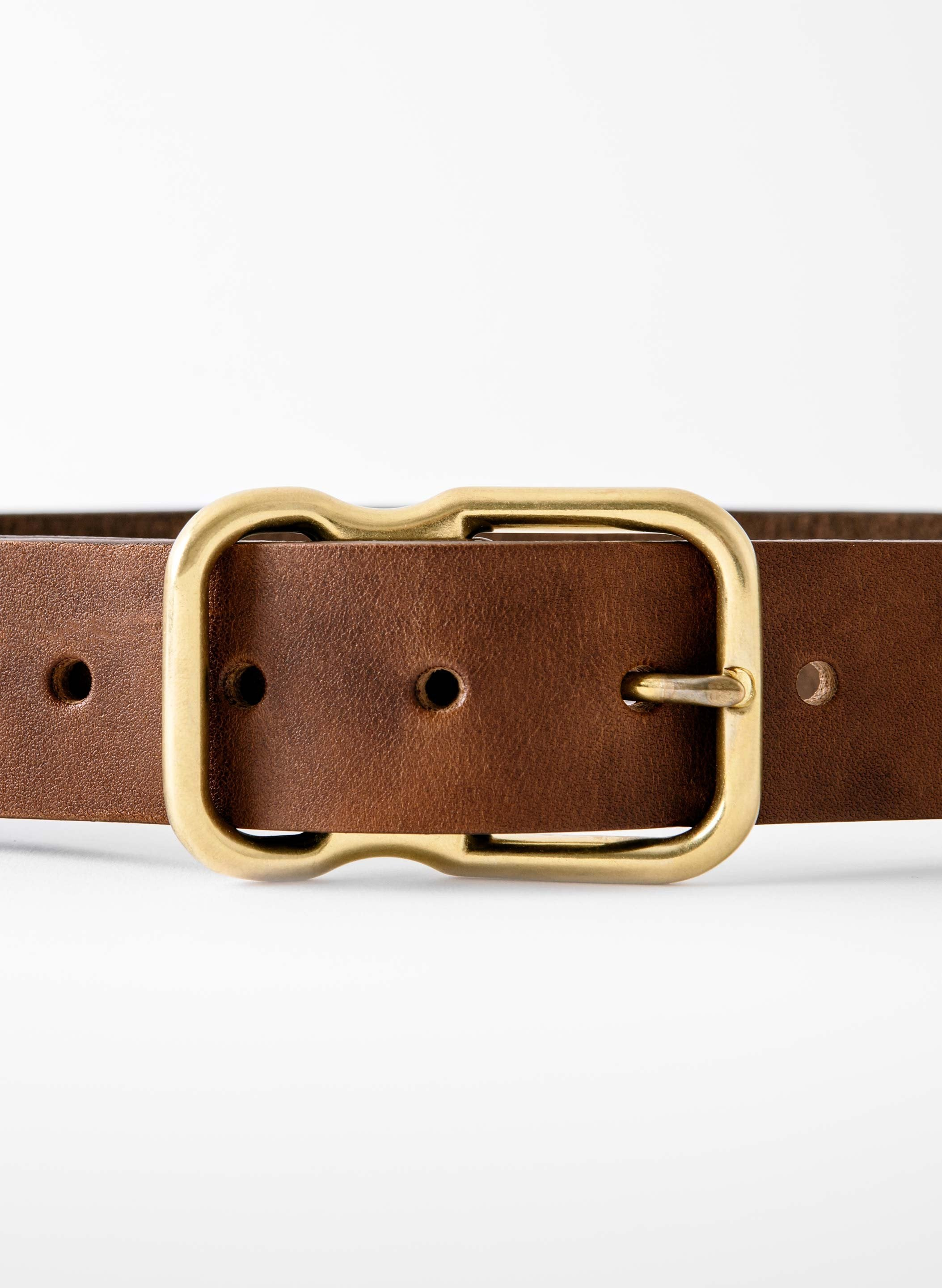 imogene + willie - Emil Erwin Signature Belt Walnut