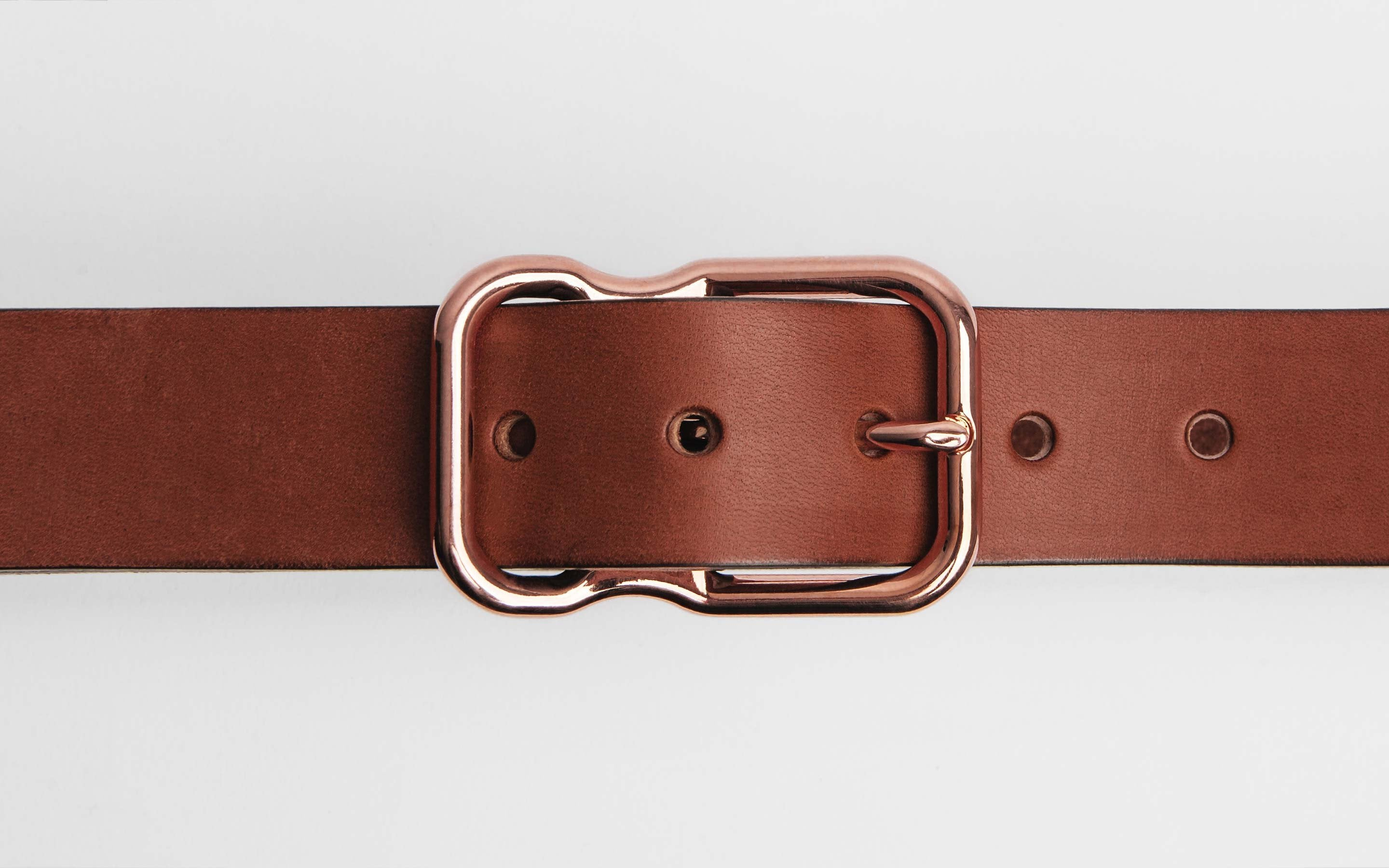 imogene + willie - Emil Erwin Signature Belt Chesnut