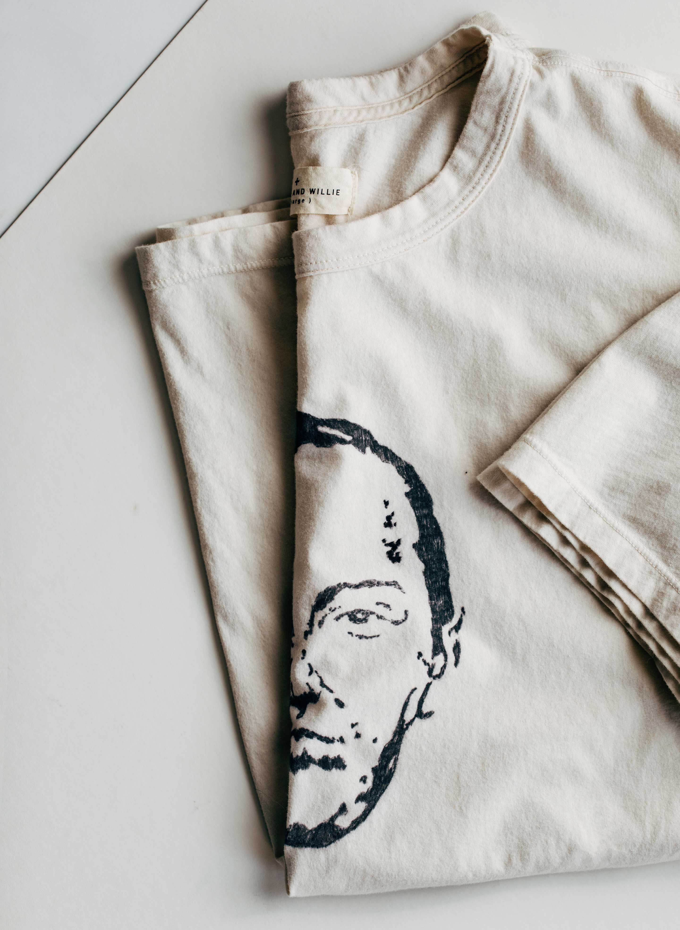 "imogene + willie - handpainted ""great escape"" tee"