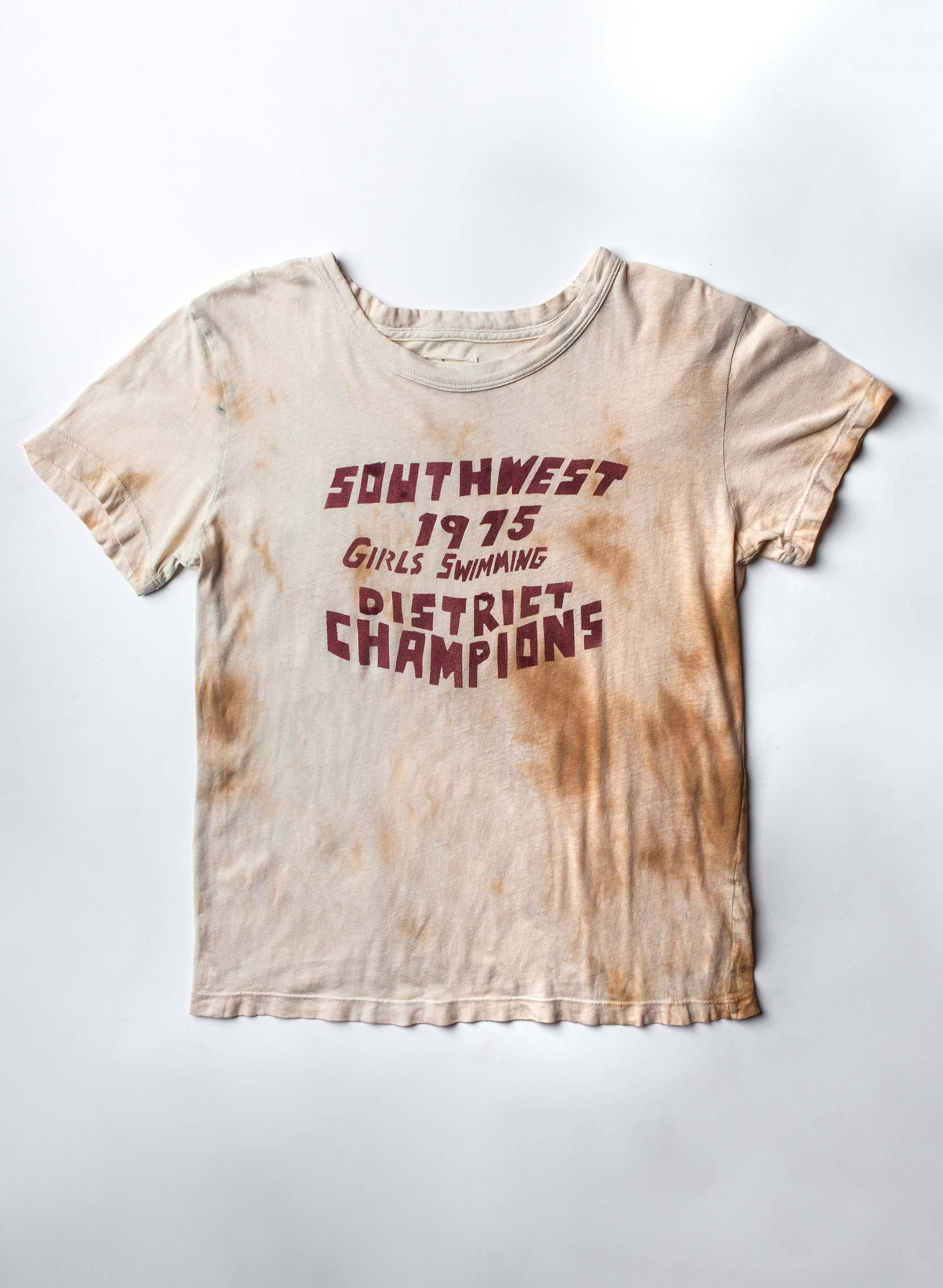 "imogene + willie - the handpainted ""district champs"" drop tee"