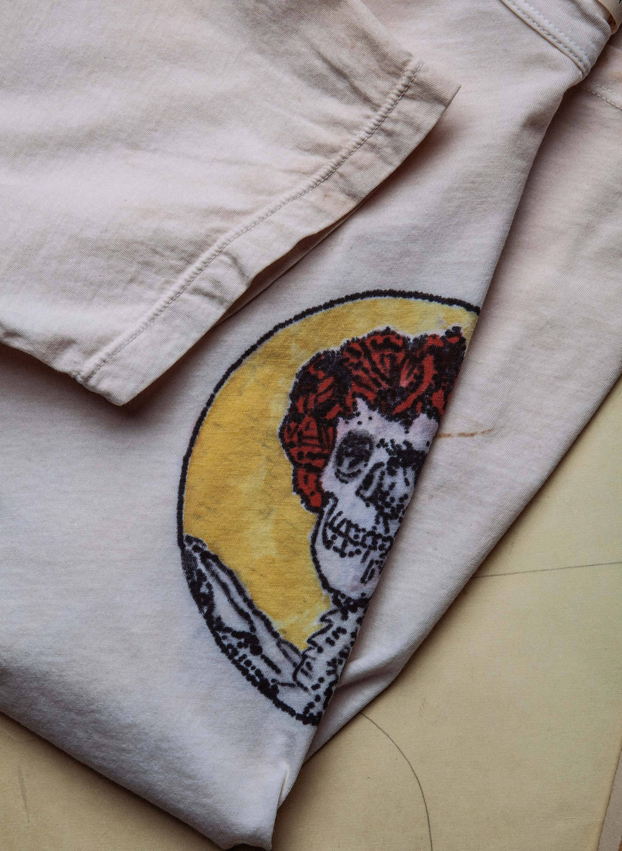 "imogene + willie - the handpainted ""grateful"" tee"