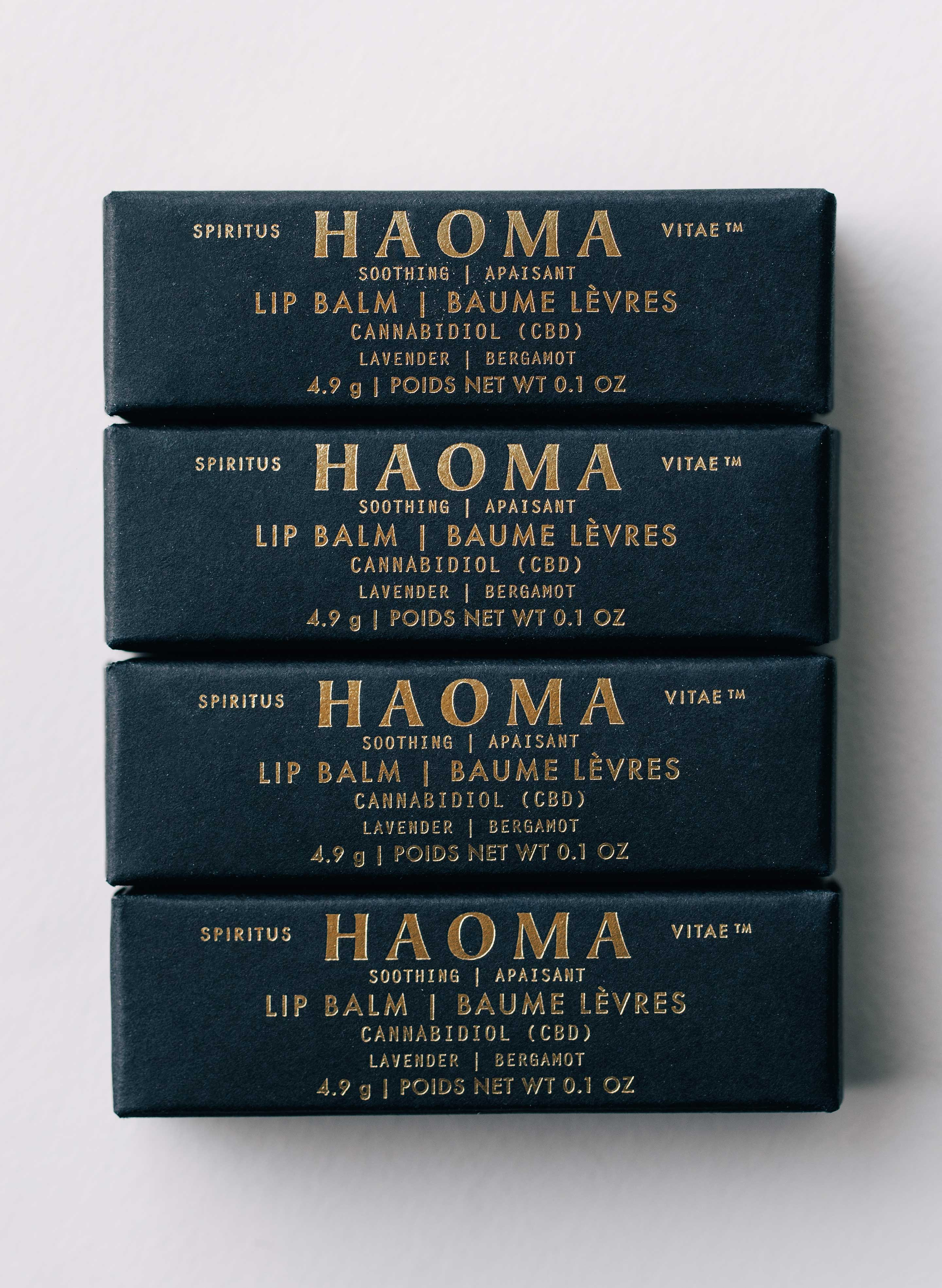 imogene + willie - bergamot + lavender lip balm by haoma