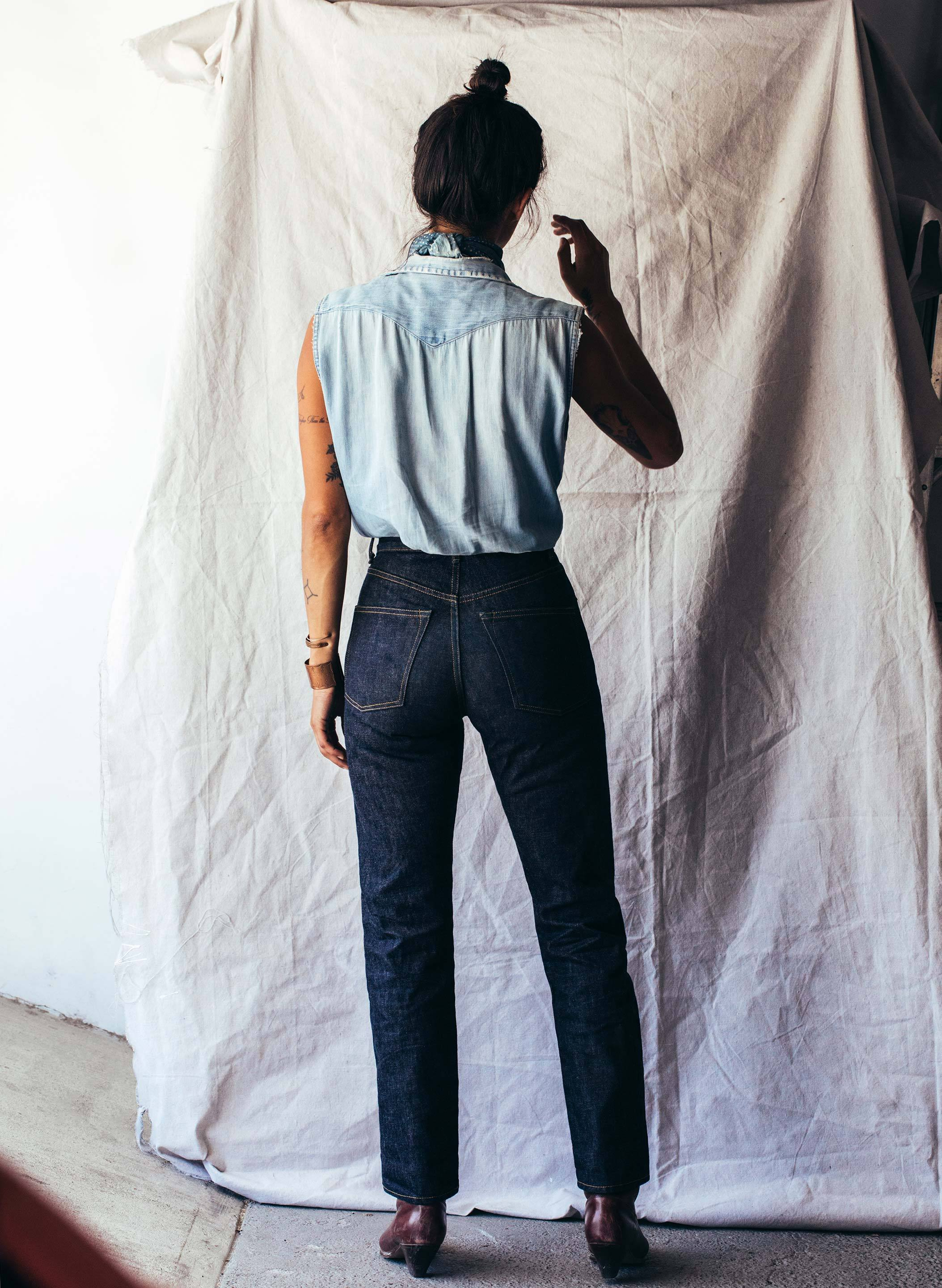 imogene + willie - harper selvage rinse