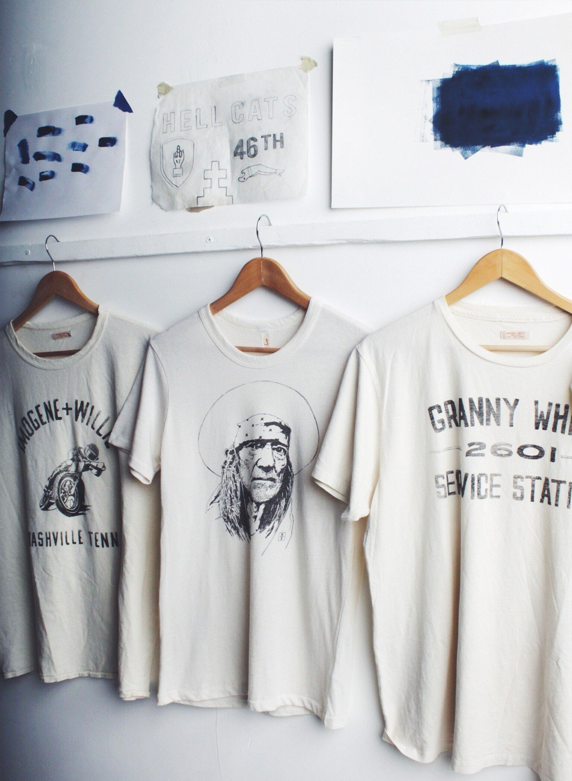 imogene + willie - the willie nelson tee