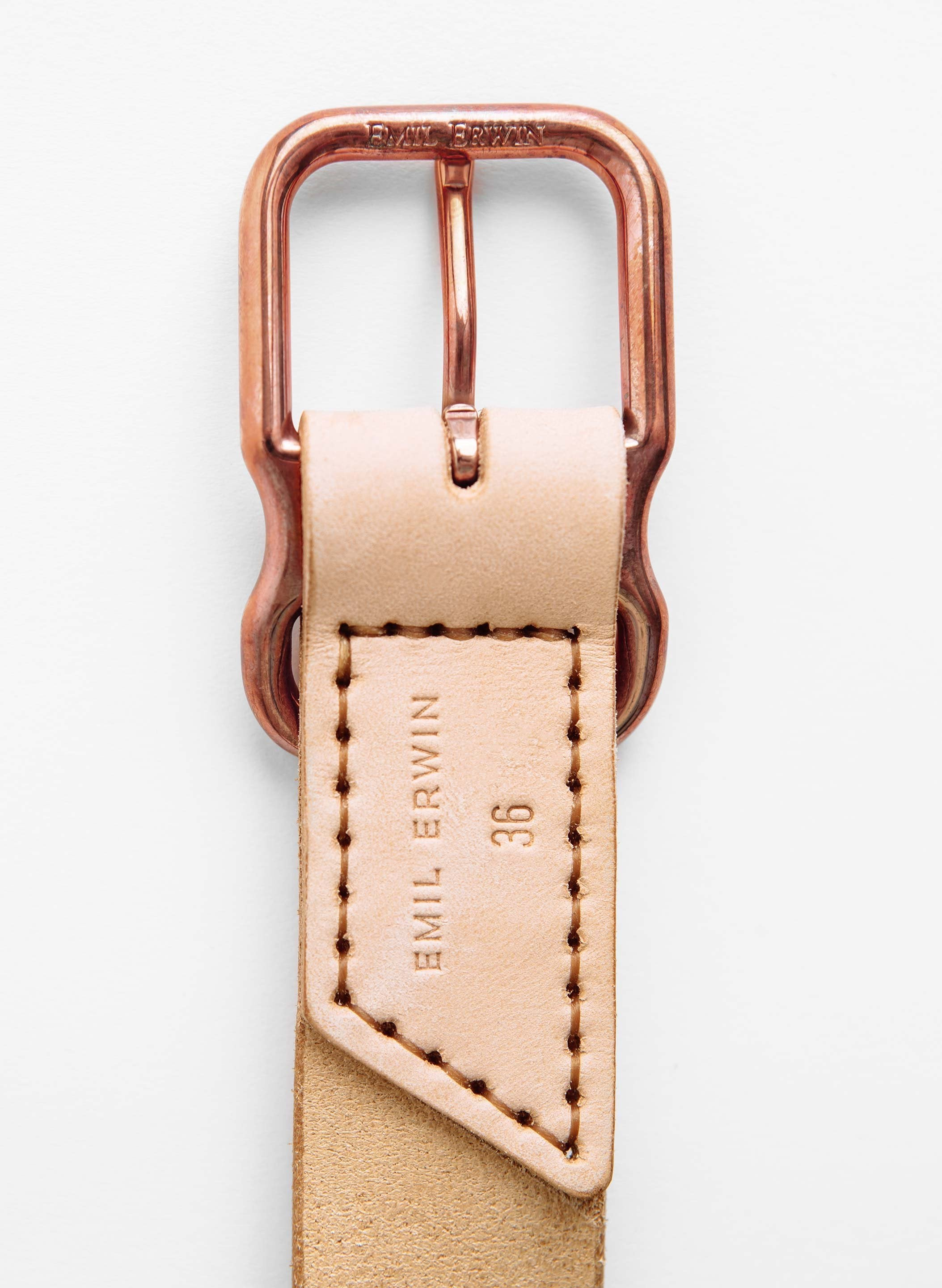 imogene + willie - Emil Erwin Signature Belt in Natural