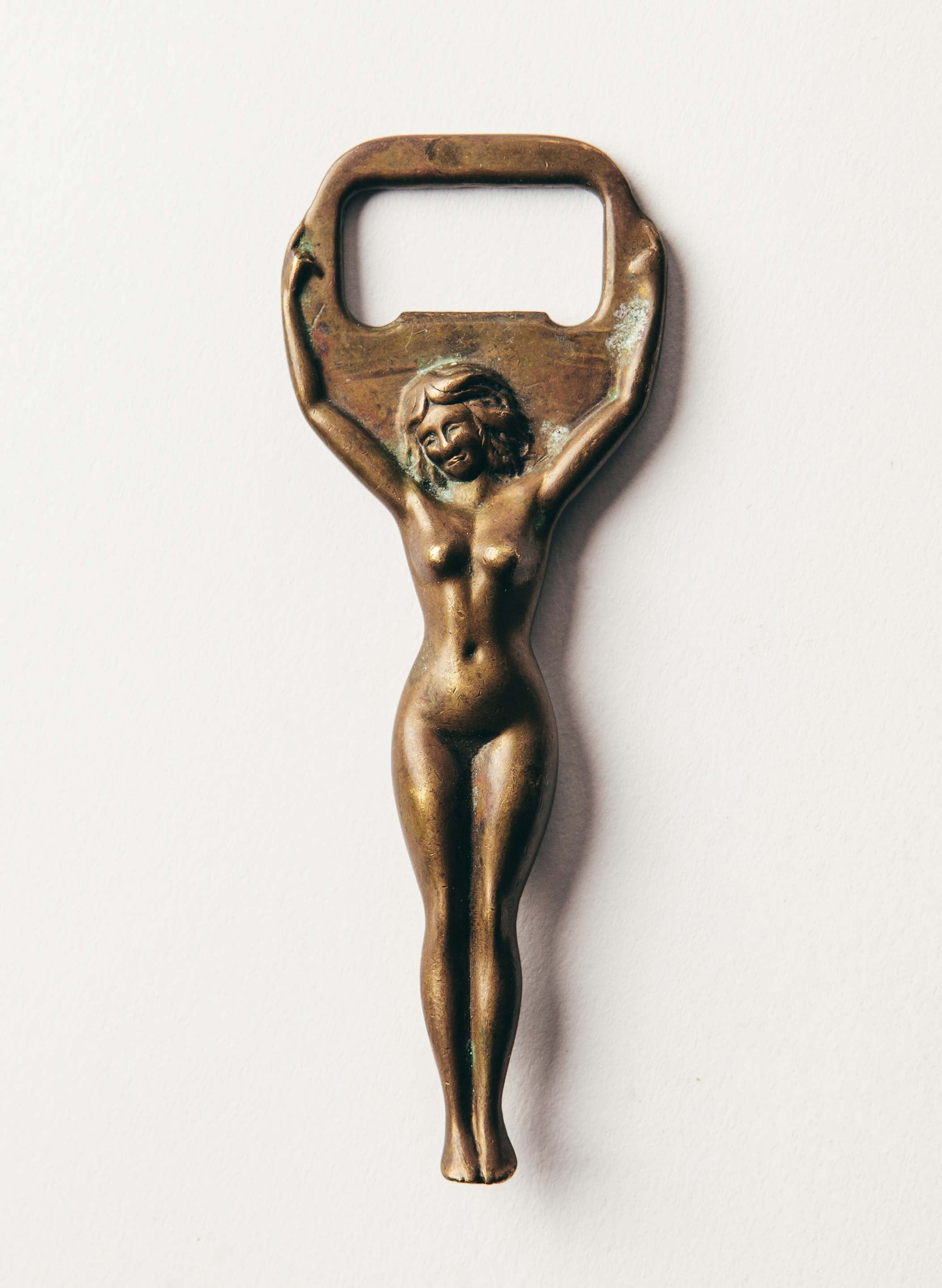 "imogene + willie - vintage ""true love"" bottle opener"