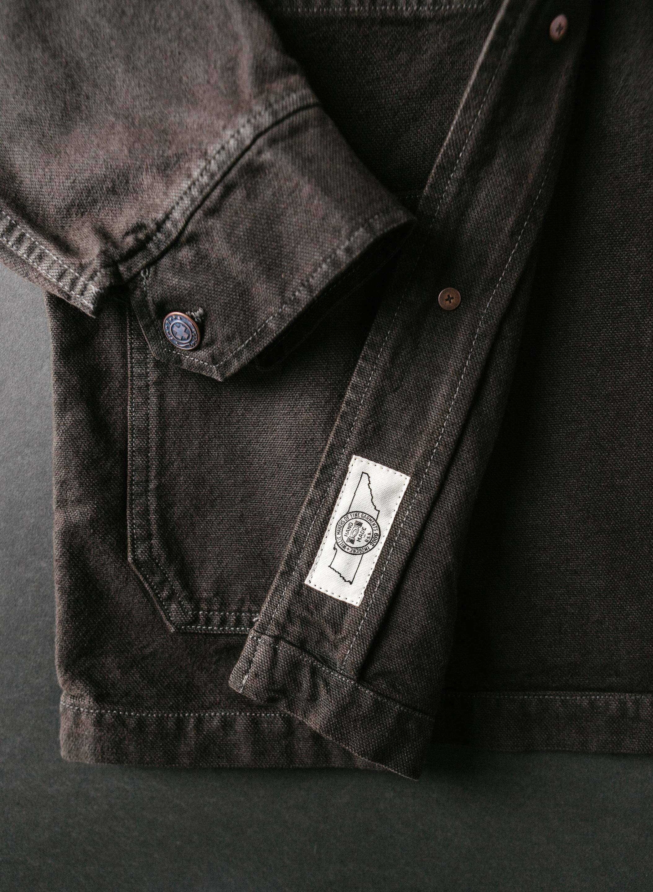 imogene + willie - jack overdyed slate jacket
