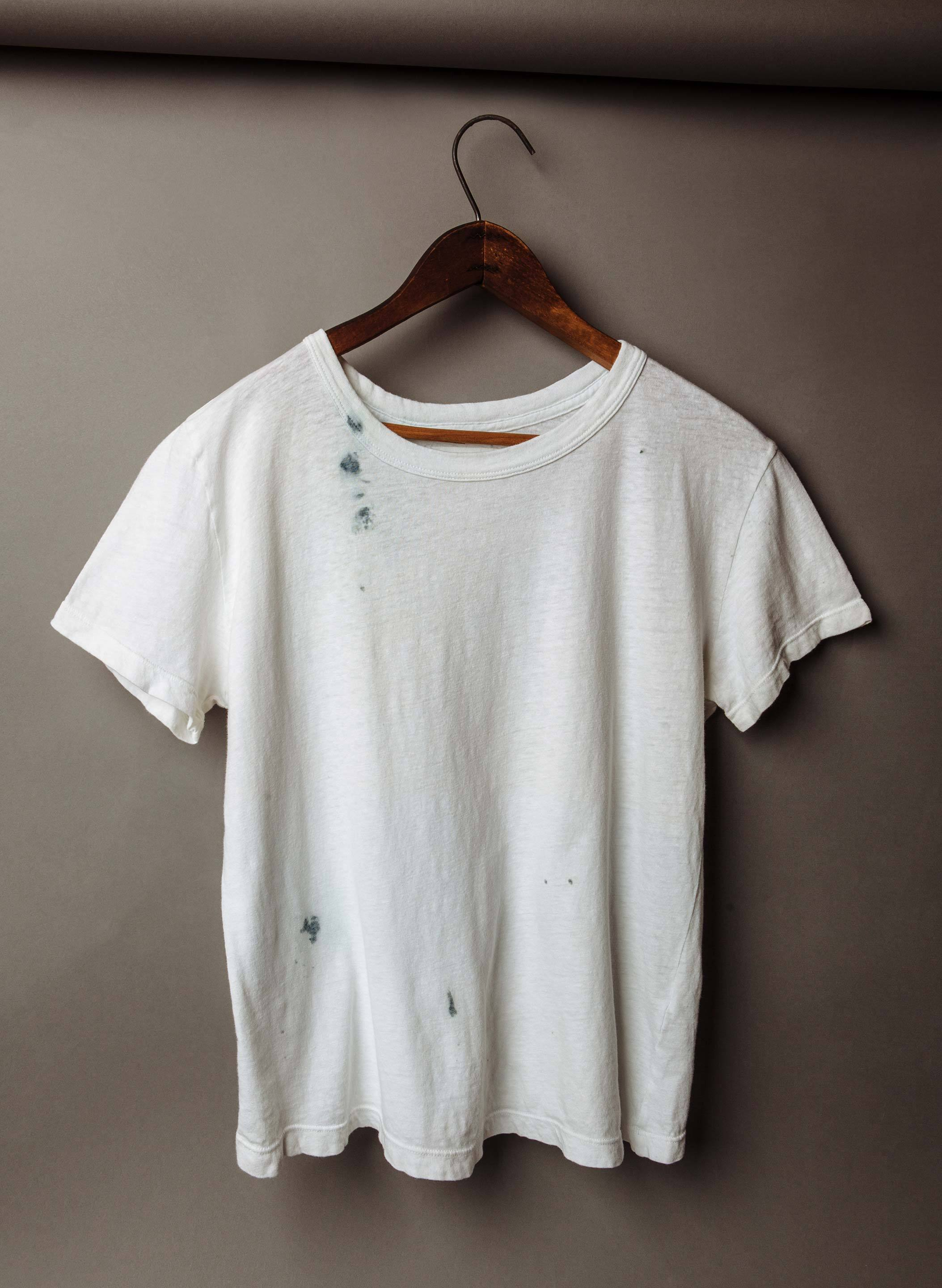 imogene + willie - drop tee in indigo cast
