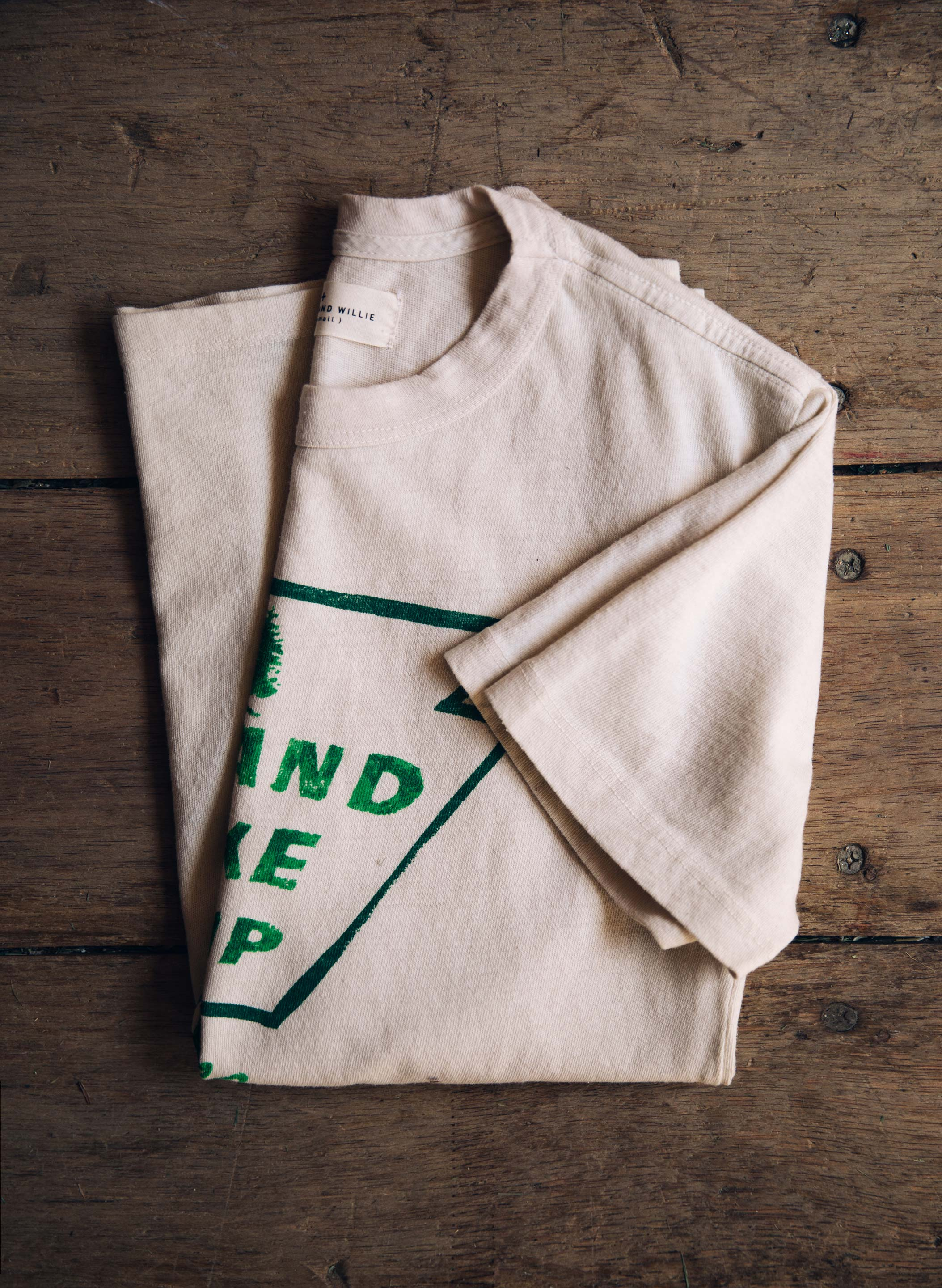 "imogene + willie - the ""island lake"" tee"