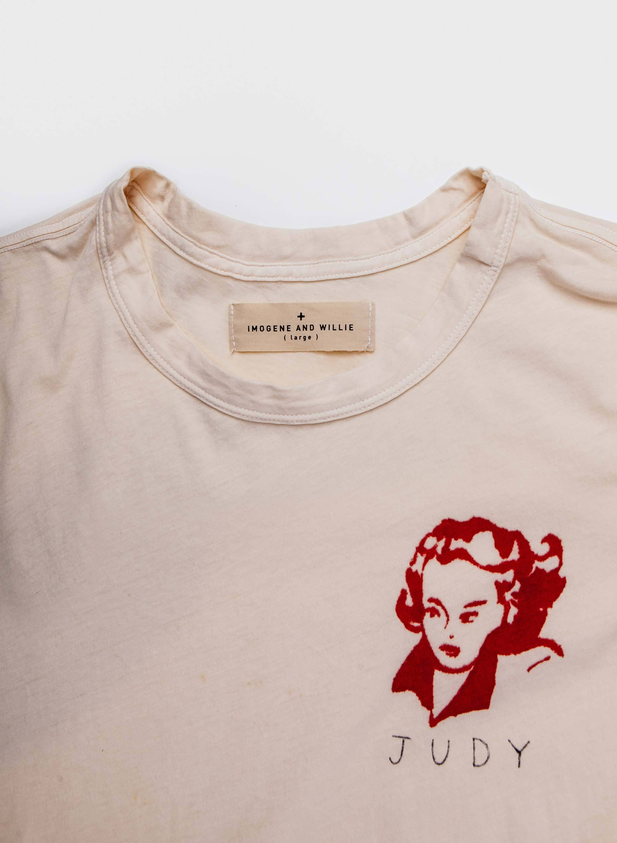 "imogene + willie - the handpainted ""judy"" tee"