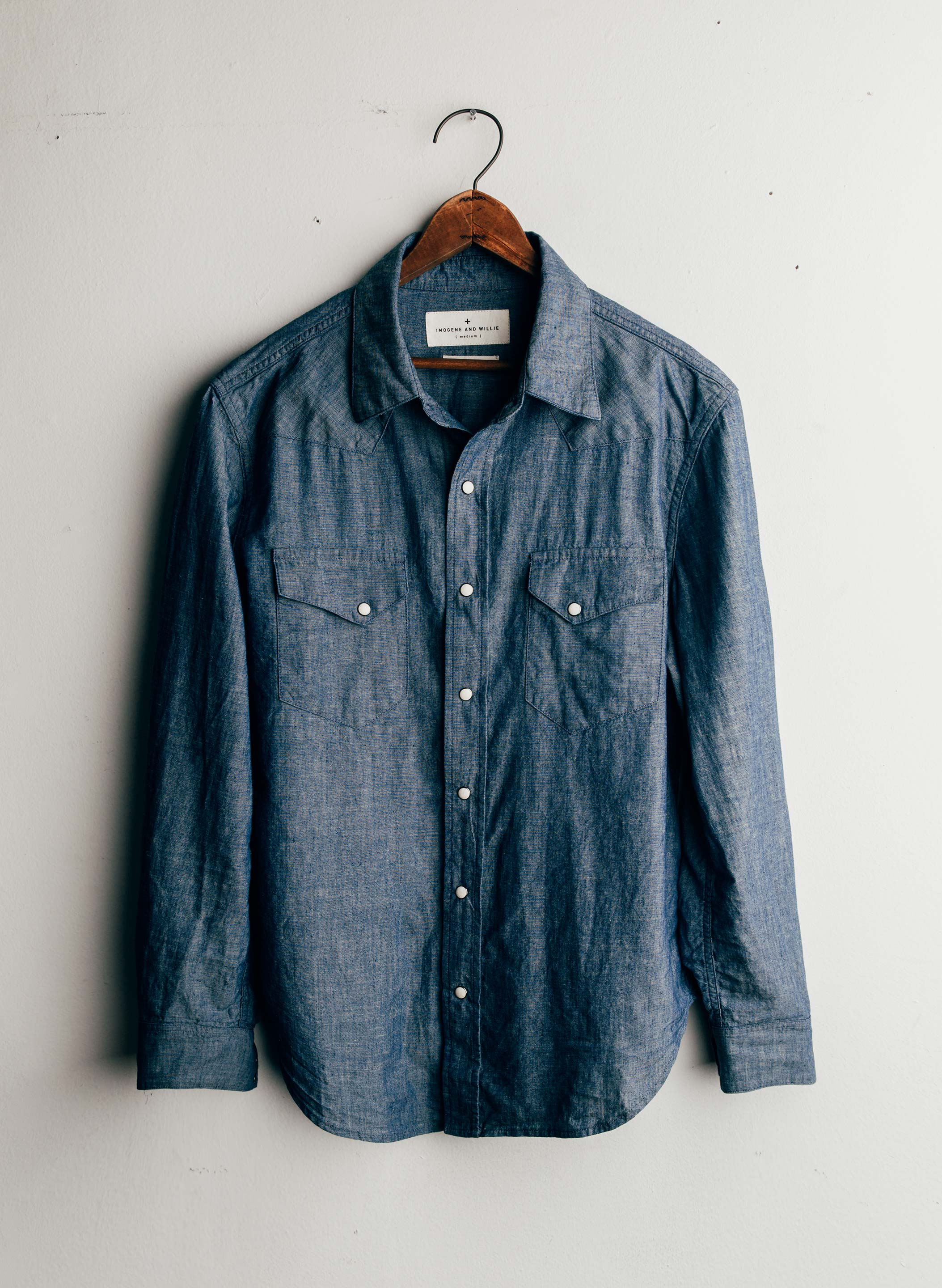imogene + willie - leo chambray western