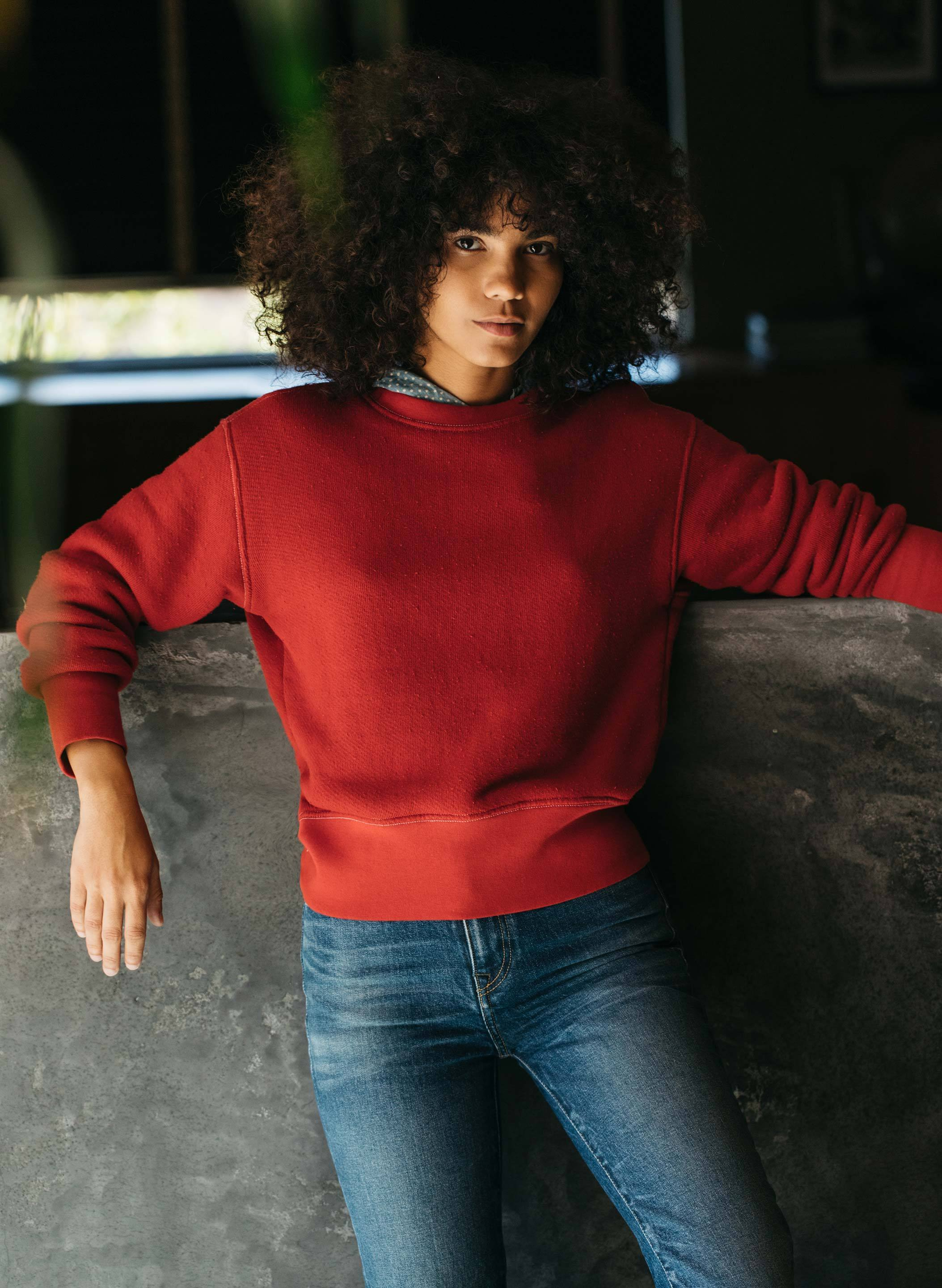 imogene + willie - lina sweatshirt