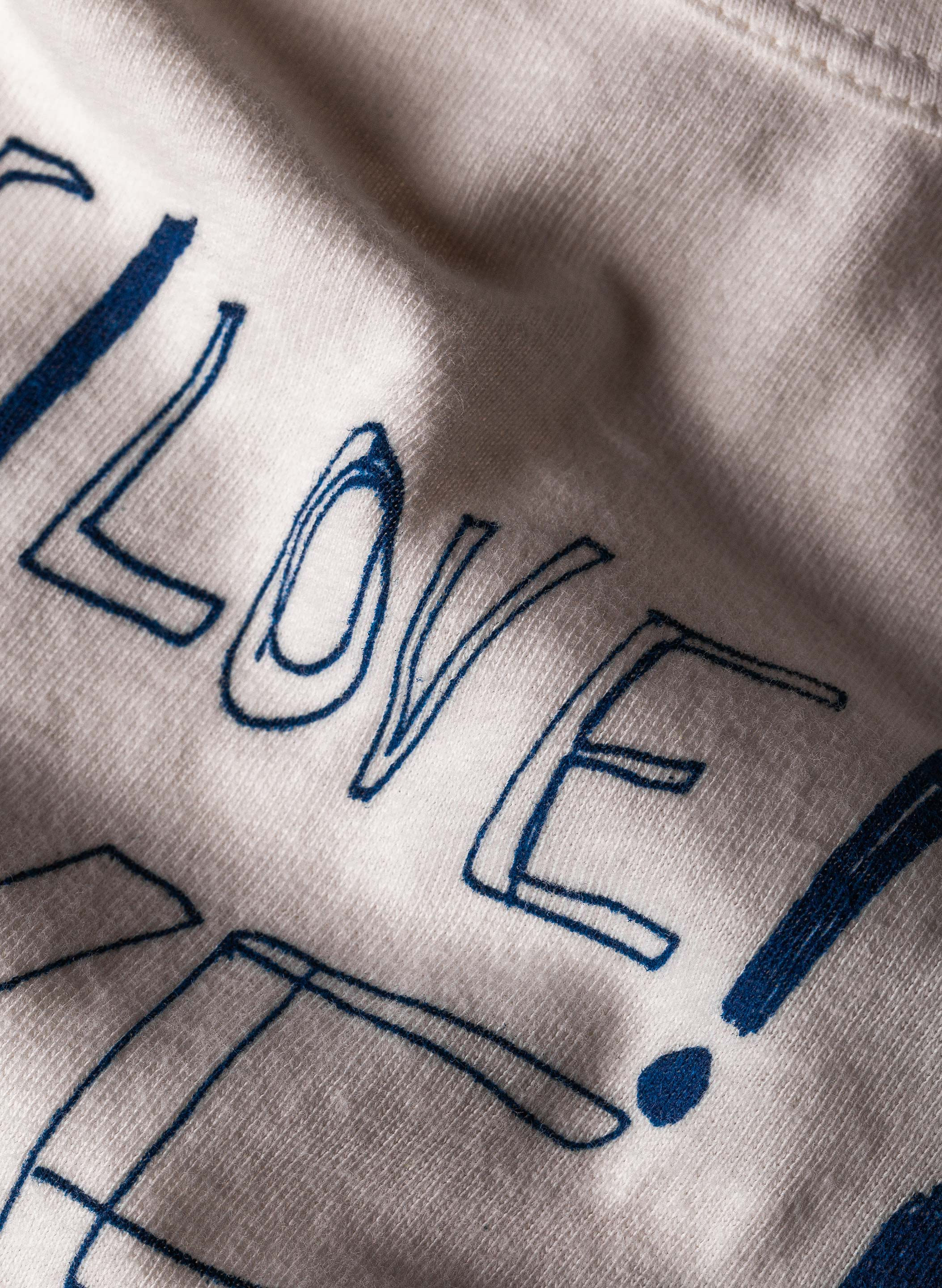 "imogene + willie - the ""love"" tee"