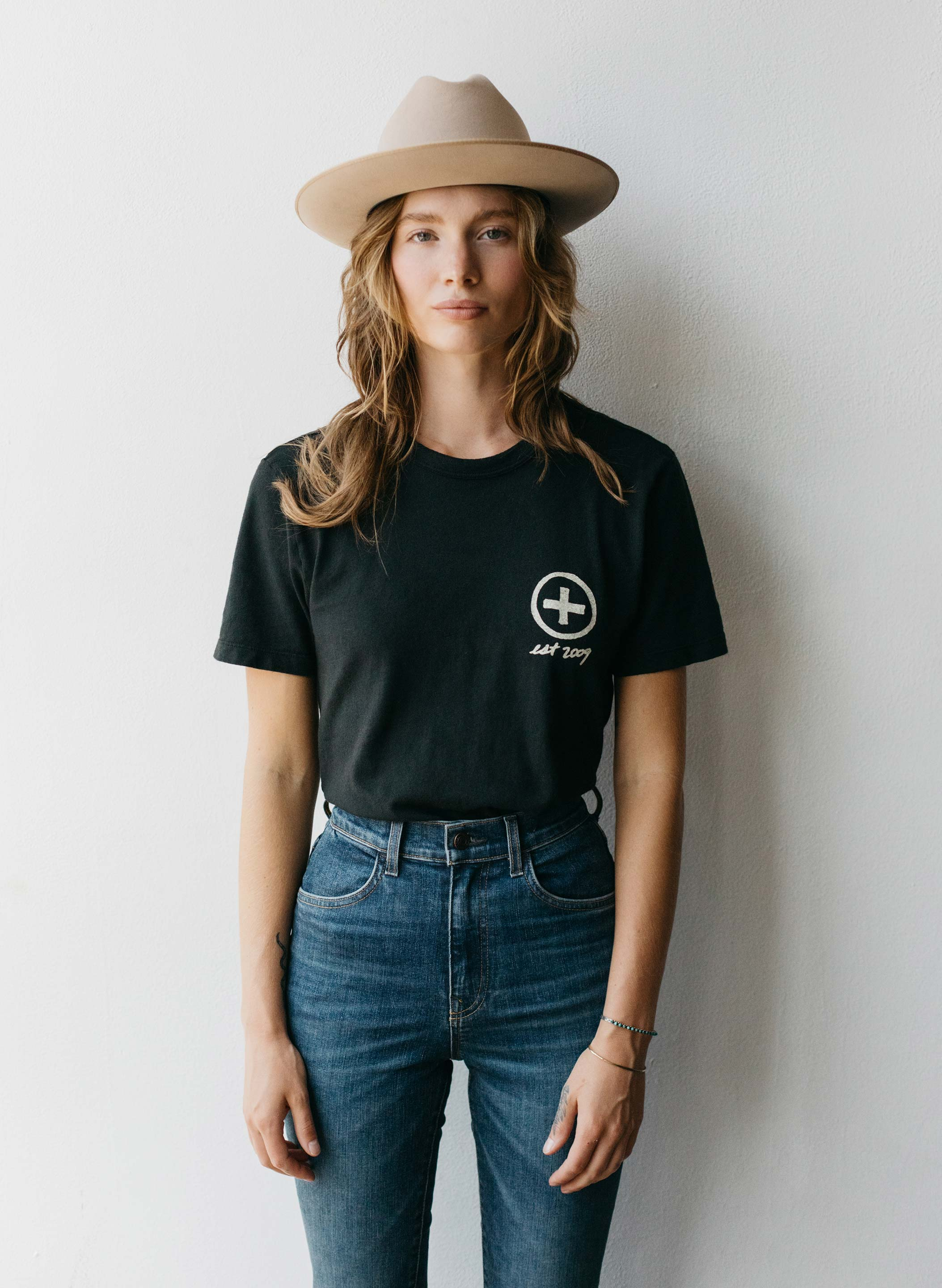imogene + willie - made with love, made to last tee
