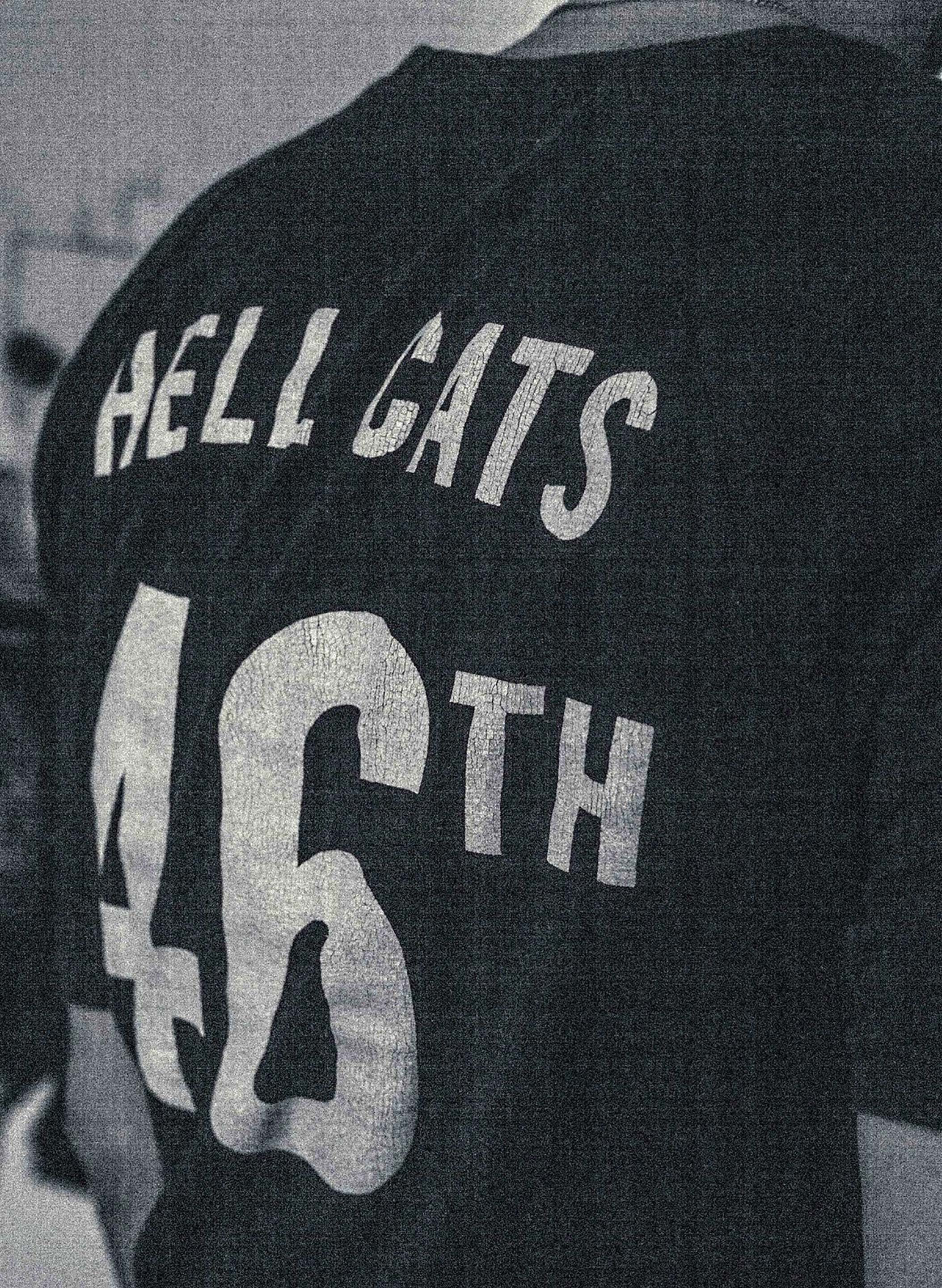 "imogene + willie - midnight knit ""hellcats"" raglan"