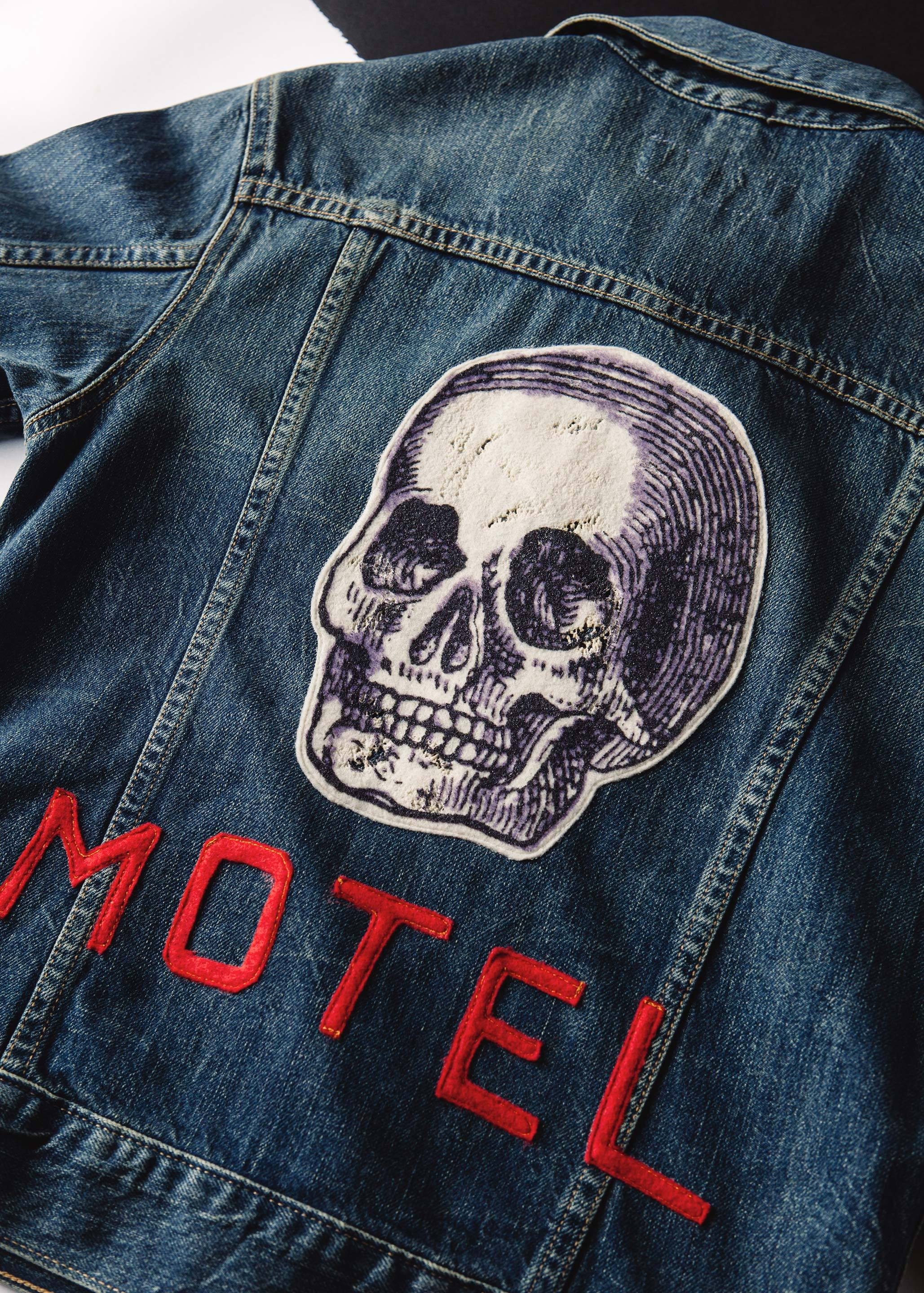"imogene + willie - stitched ""motel"" jacket"