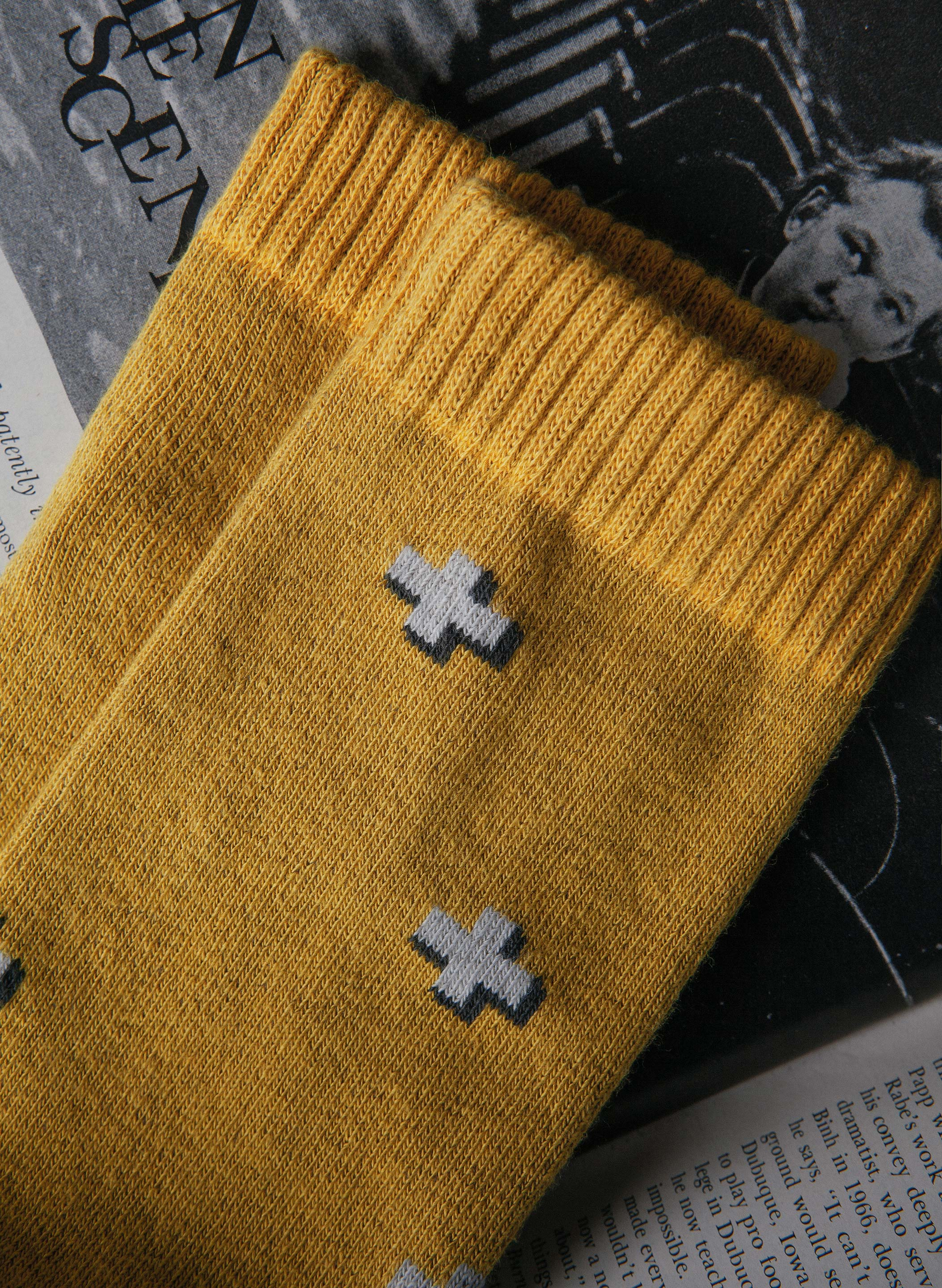 imogene + willie - plus sock in mustard