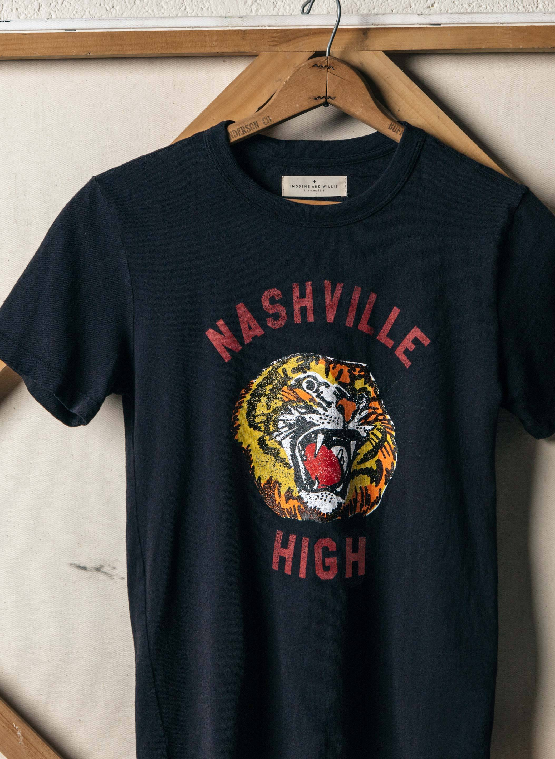 nashville high (faded black)
