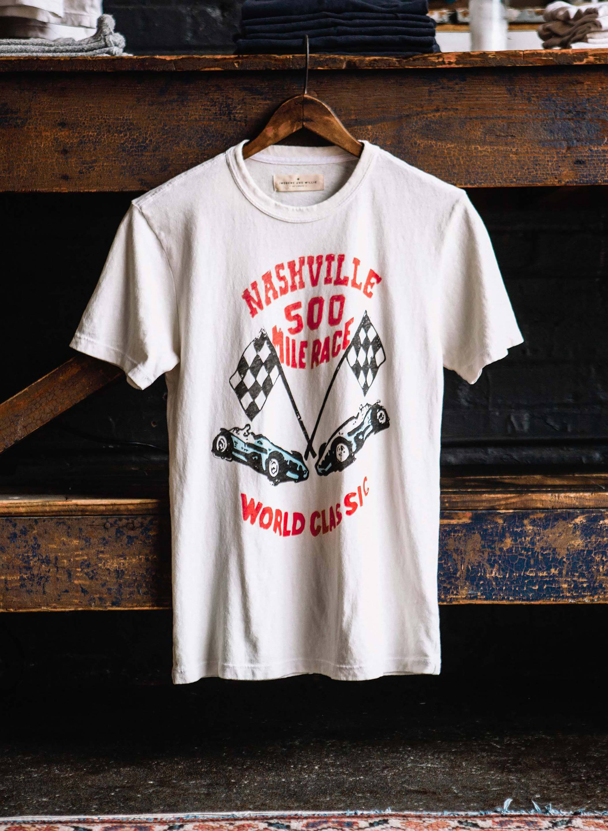 "imogene + willie - the ""nashville 500"" tee"