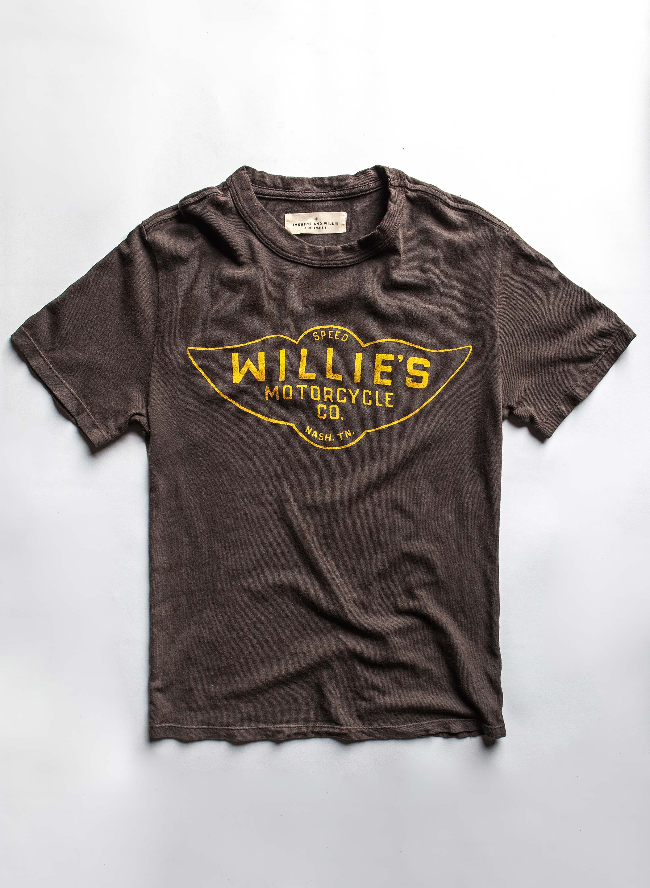 "imogene + willie - the ""speedshop"" tee"