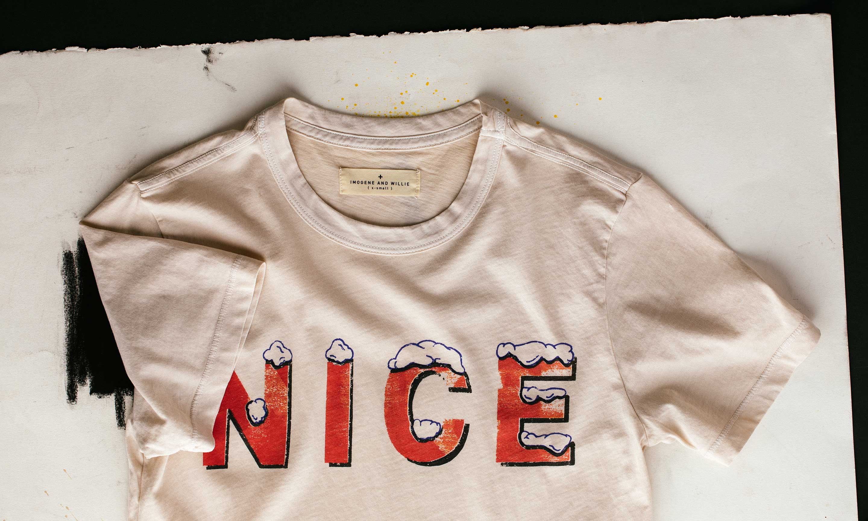"imogene + willie - the ""nice"" tee"