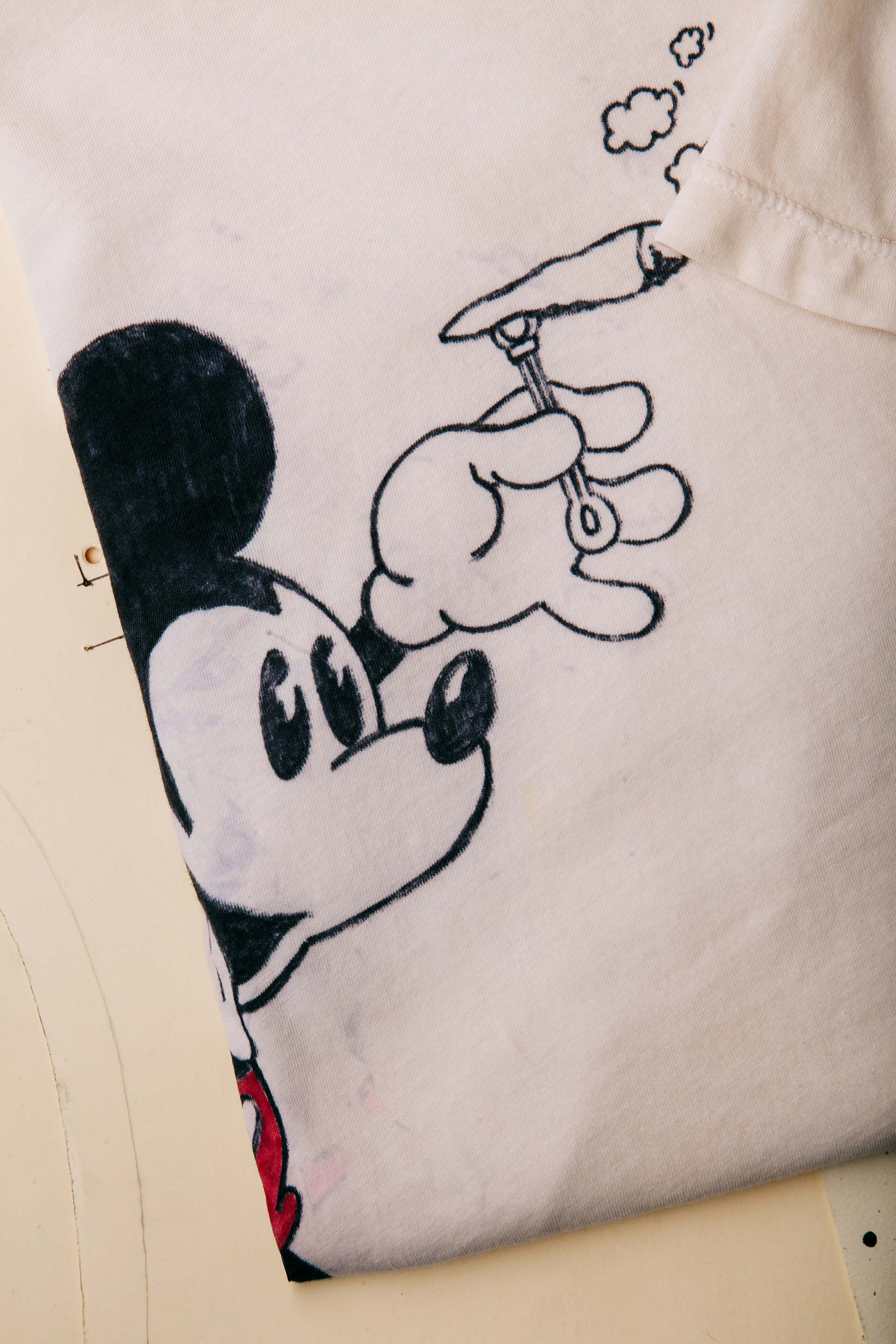 "imogene + willie - hand-drawn ""not for you"" tee"