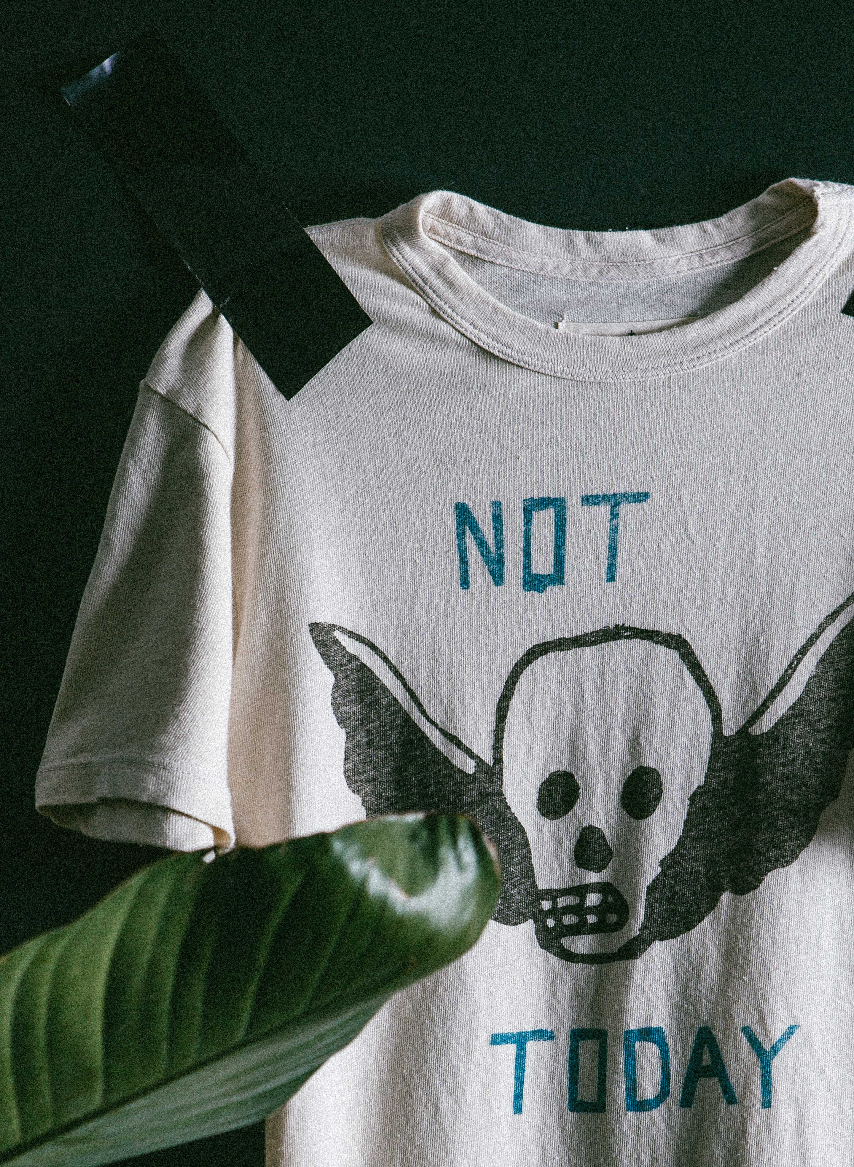 "imogene + willie - the ""not today"" tee"