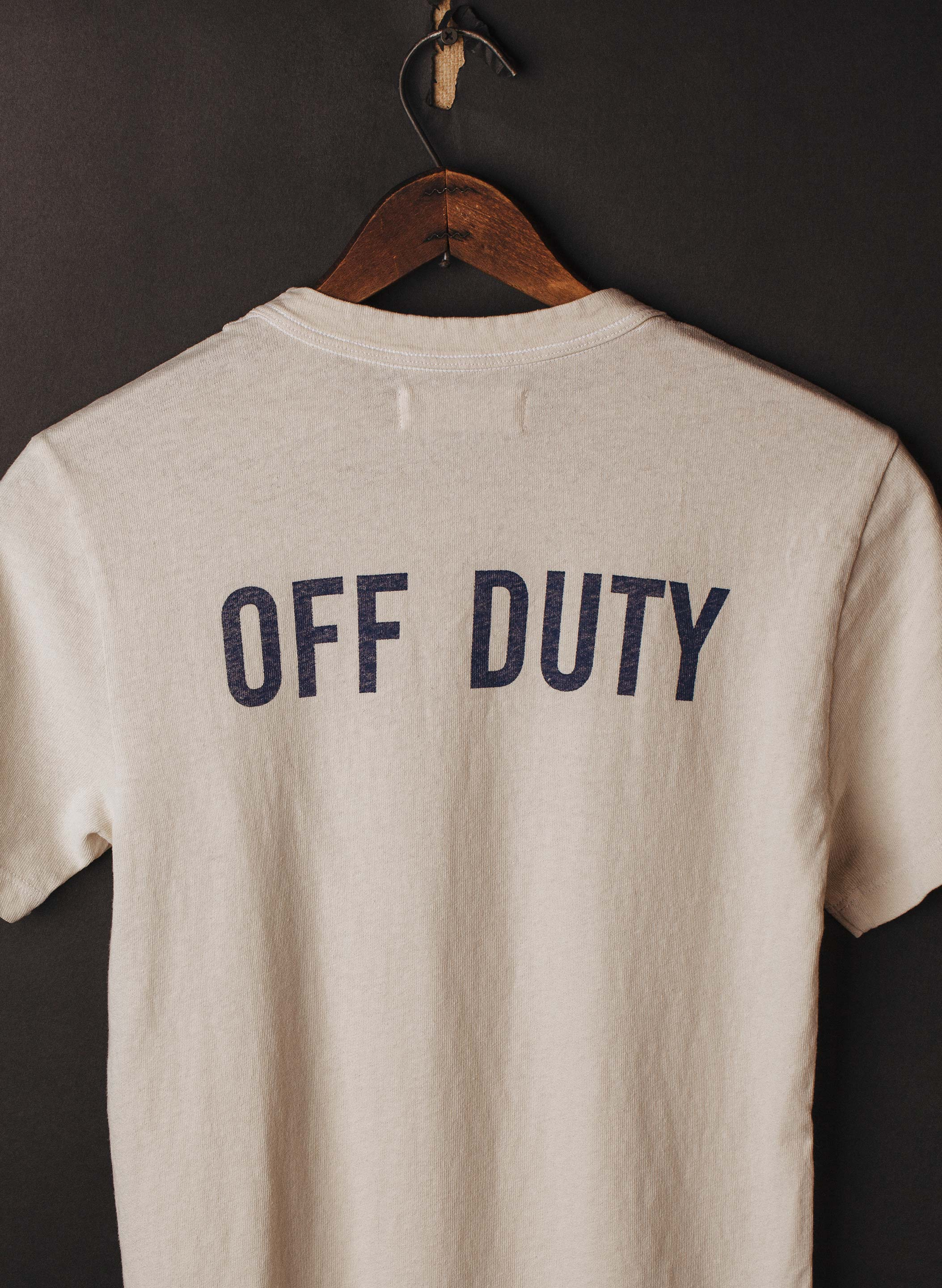 "imogene + willie - the ""off duty"" collab tee"