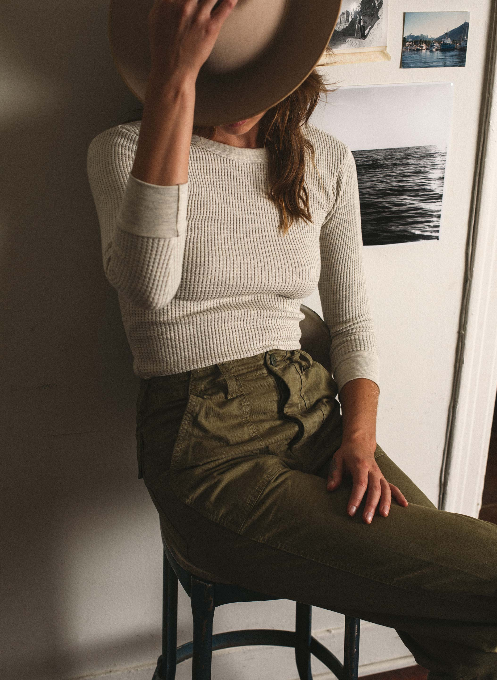 imogene + willie - palmore military green