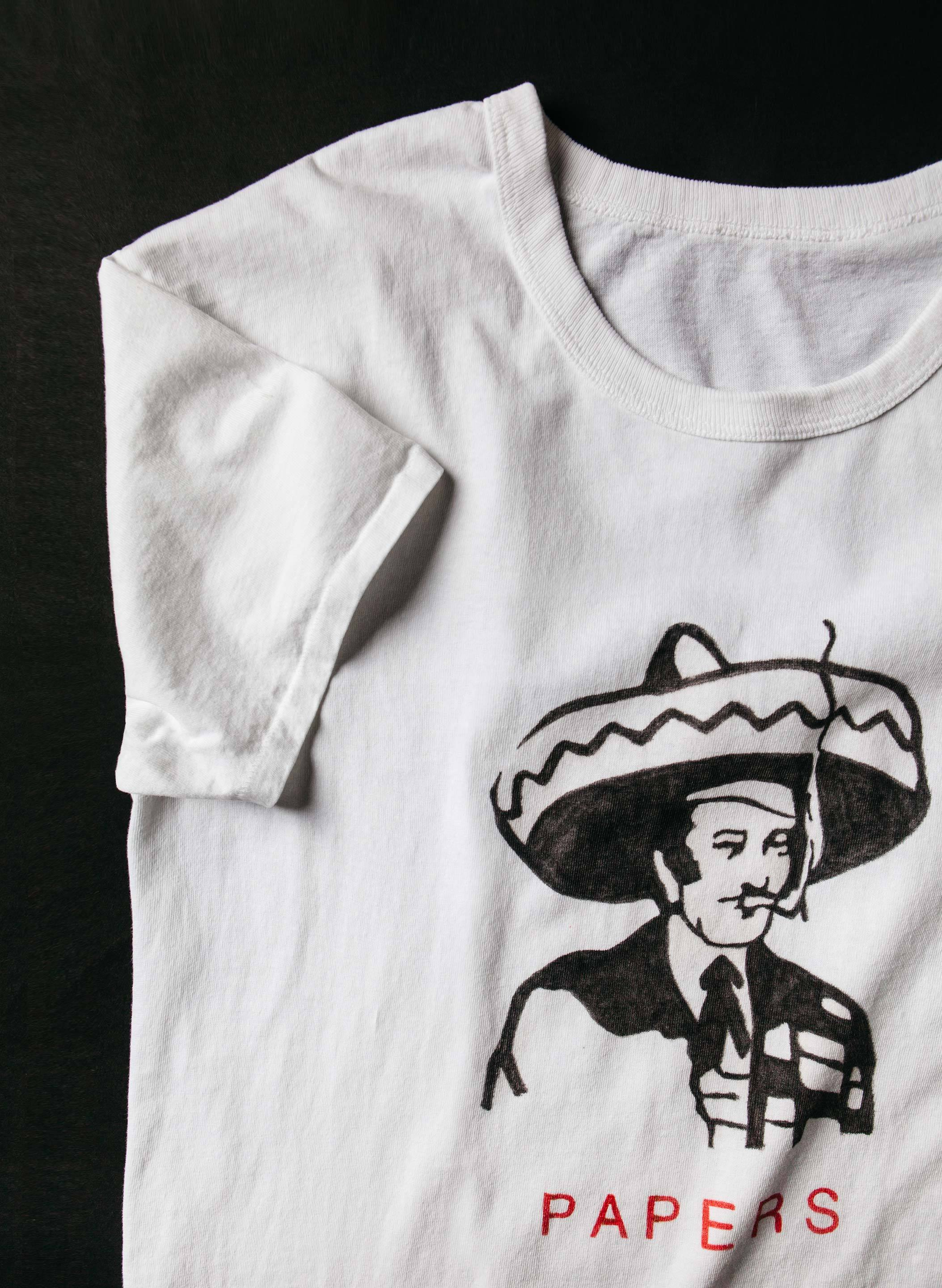 "imogene + willie - drawn ""si nombre"" tee"
