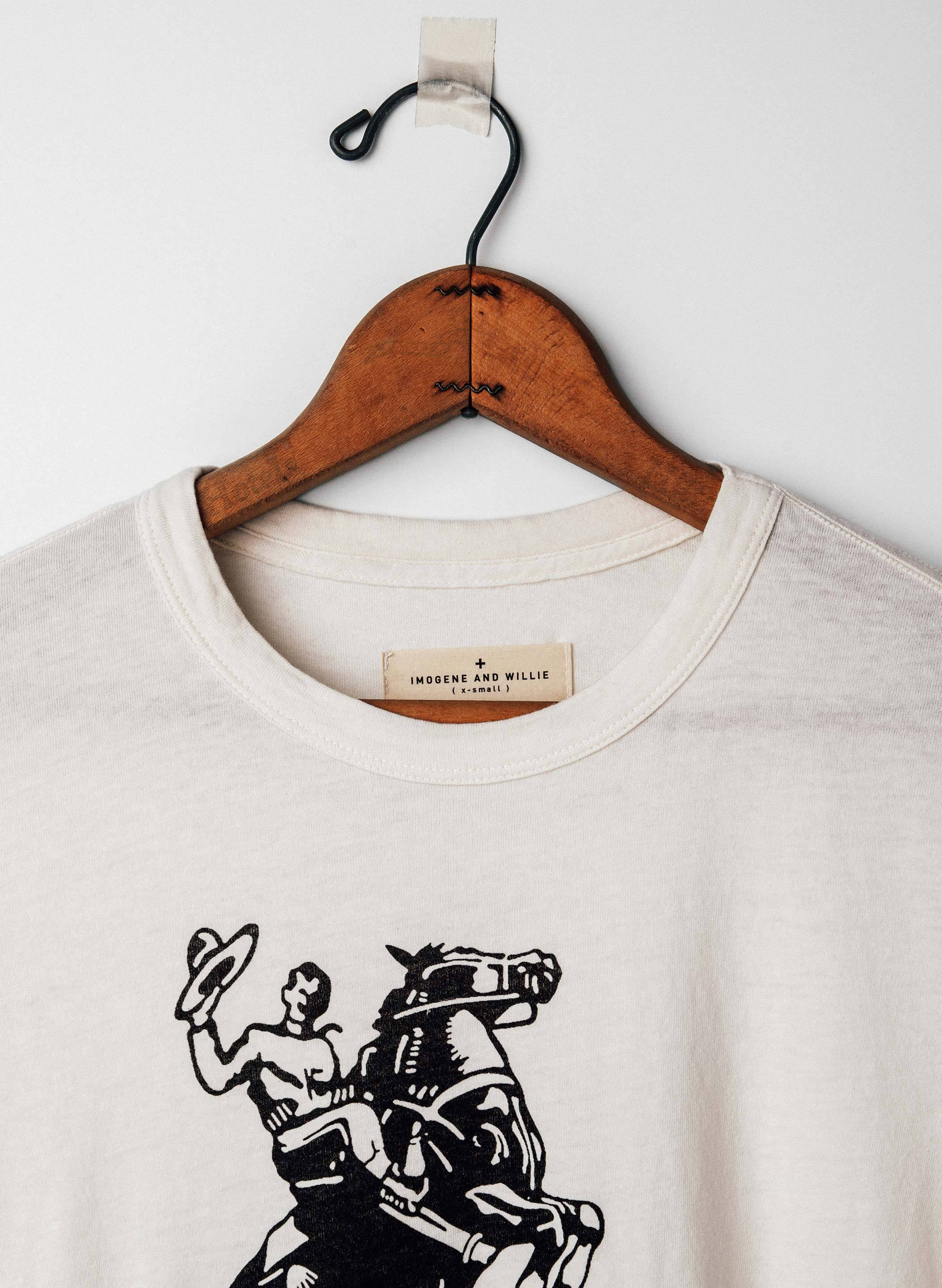 "imogene + willie - the ""rarin' to go"" tee"